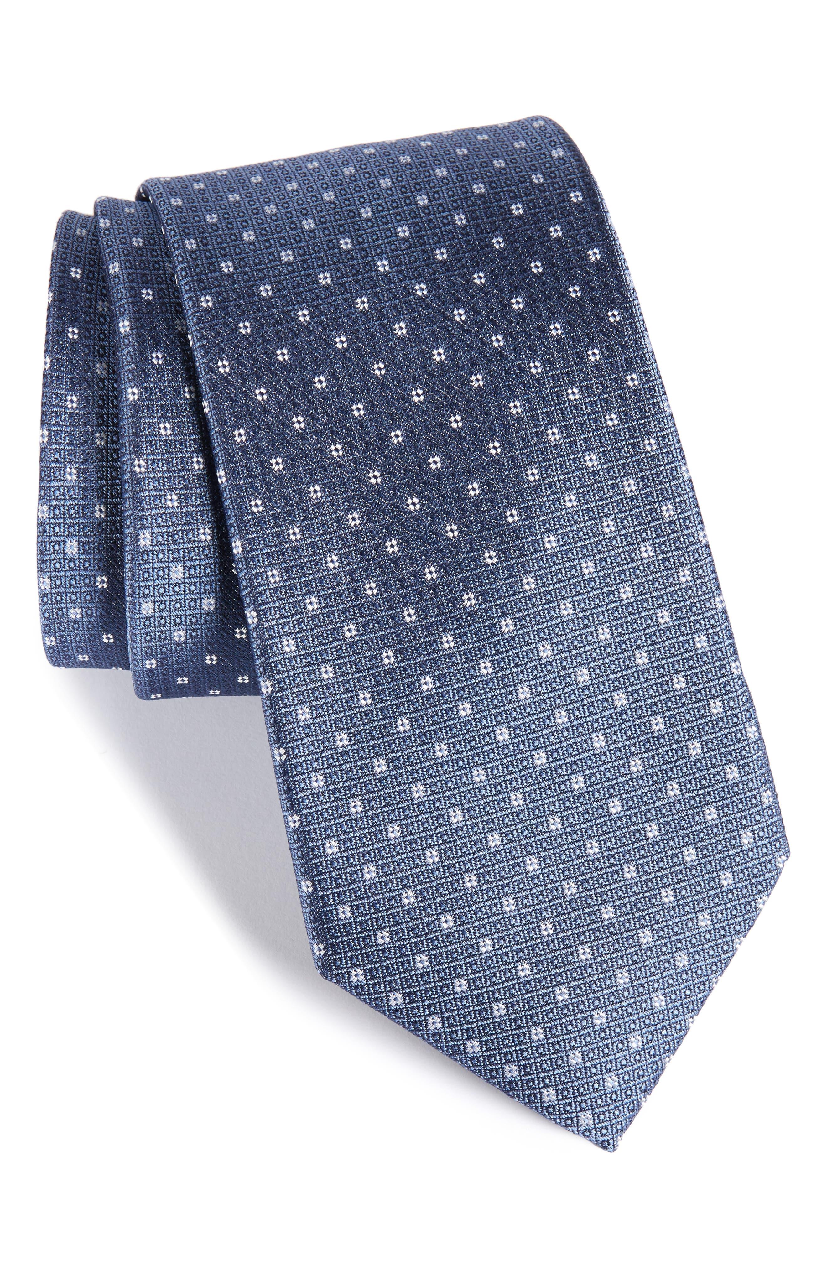 Denson Neat Silk Tie,                             Main thumbnail 2, color,