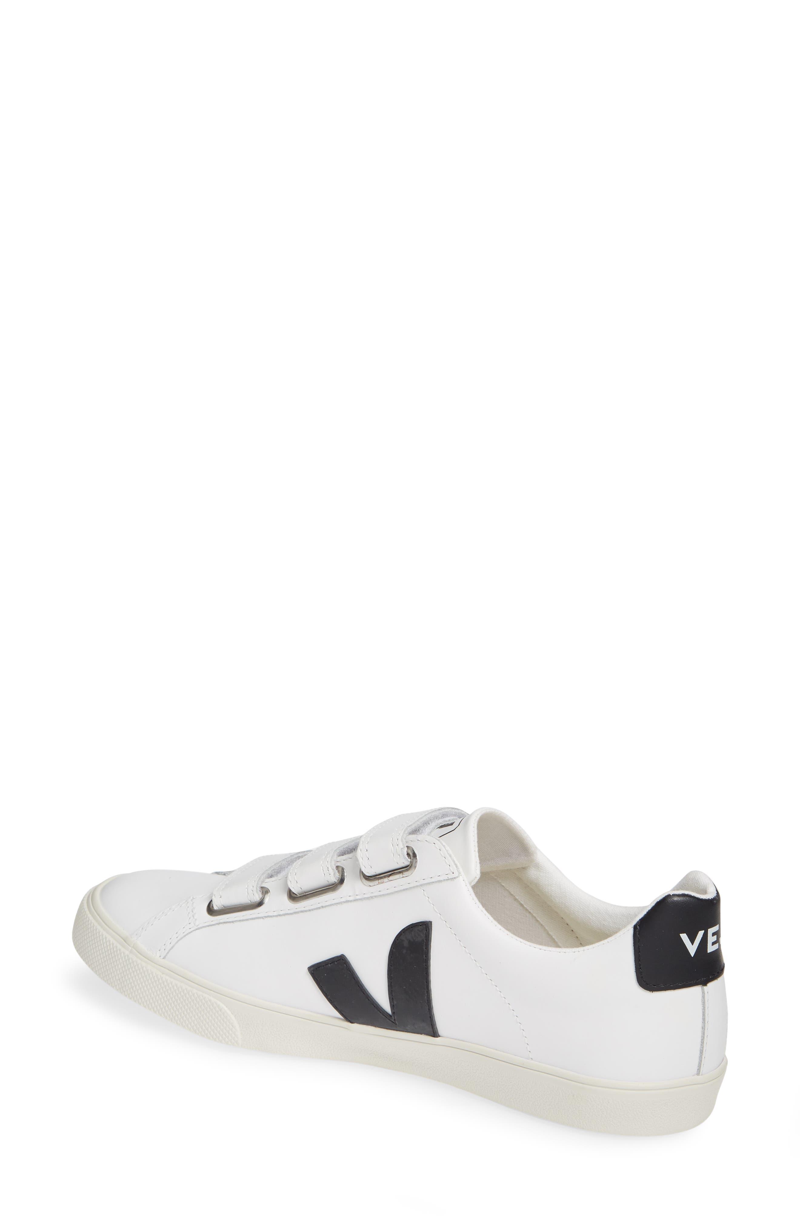 Espalar 3-Lock Sneaker,                             Alternate thumbnail 2, color,                             EXTRA WHITE BLACK