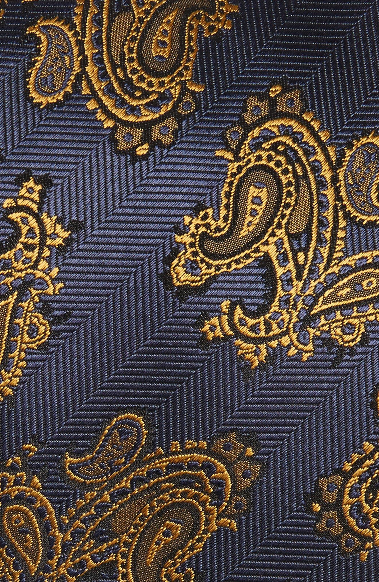 Paisley Silk Tie,                             Alternate thumbnail 2, color,                             483