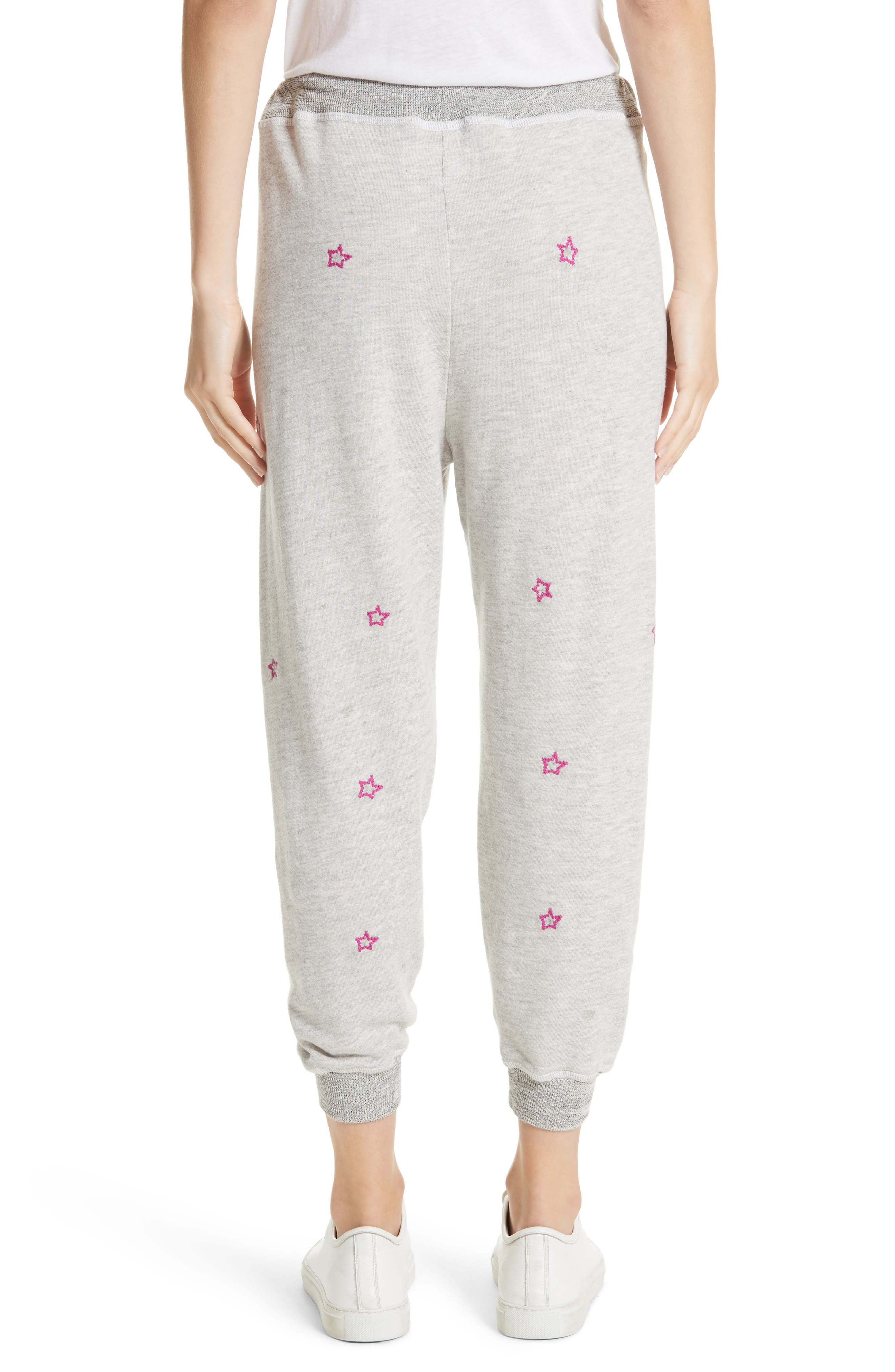 The Cropped Sweatpants,                             Alternate thumbnail 3, color,