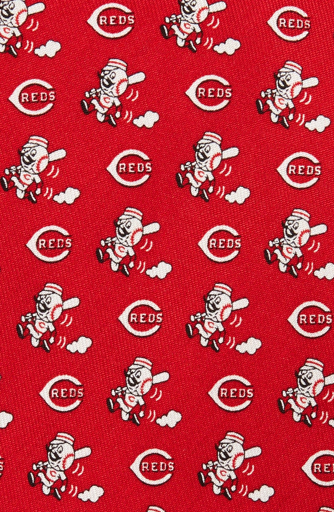 'Cincinnati Reds - MLB' Print Silk Tie,                             Alternate thumbnail 2, color,                             RED