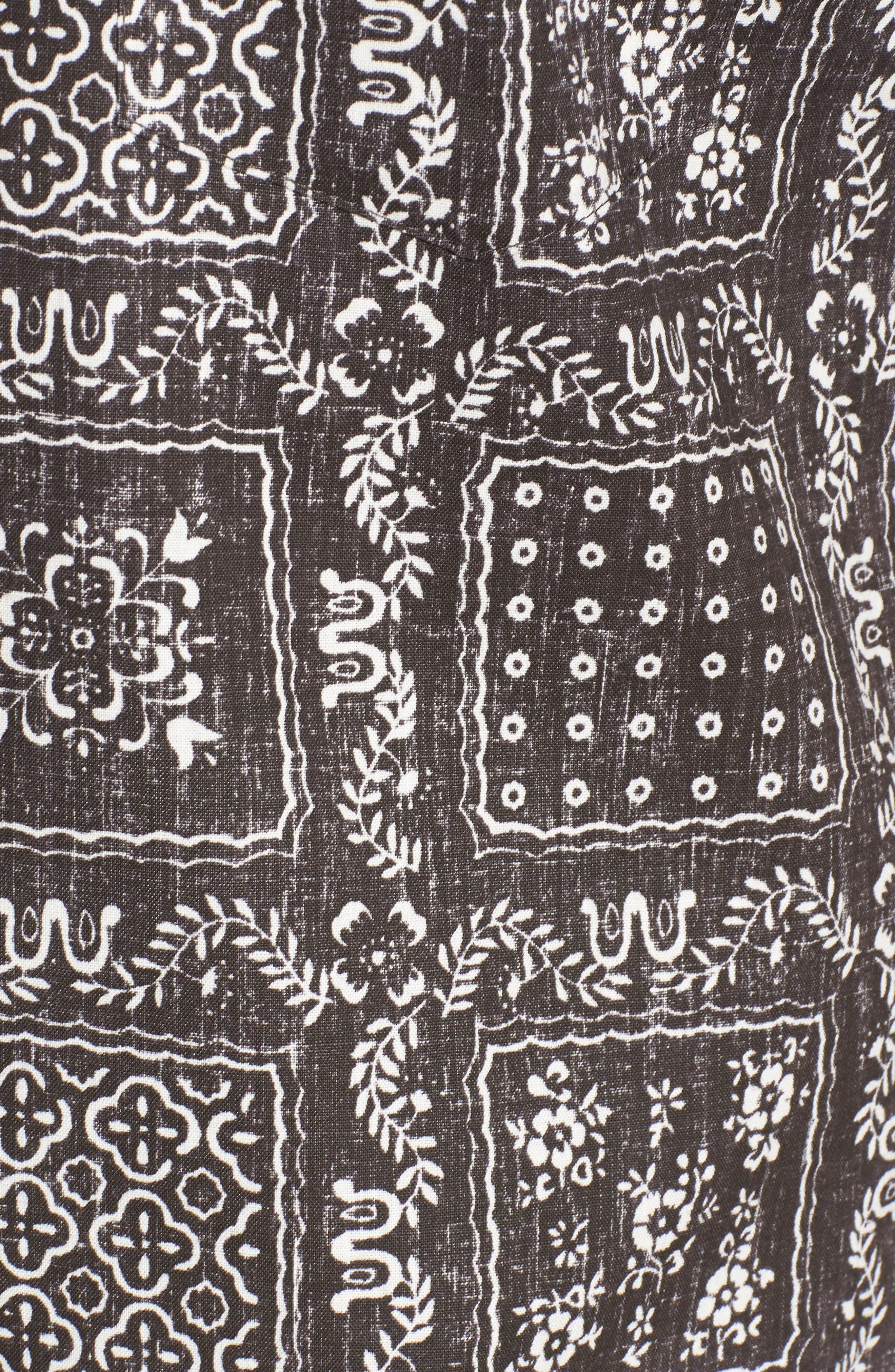 Lahaina Sailor Tailored Fit Sport Shirt,                             Alternate thumbnail 5, color,                             001