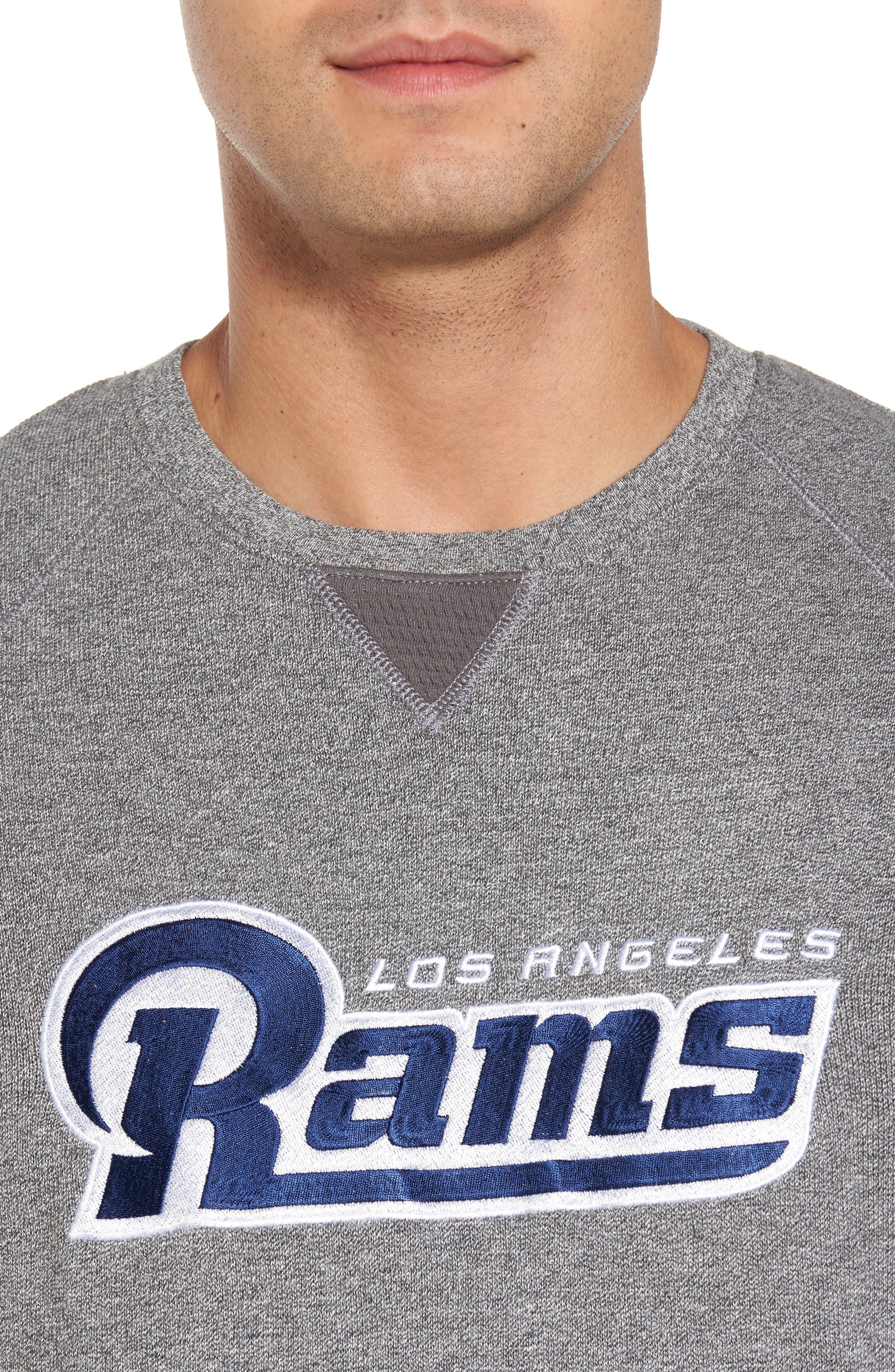 NFL Stitch of Liberty Embroidered Crewneck Sweatshirt,                             Alternate thumbnail 116, color,