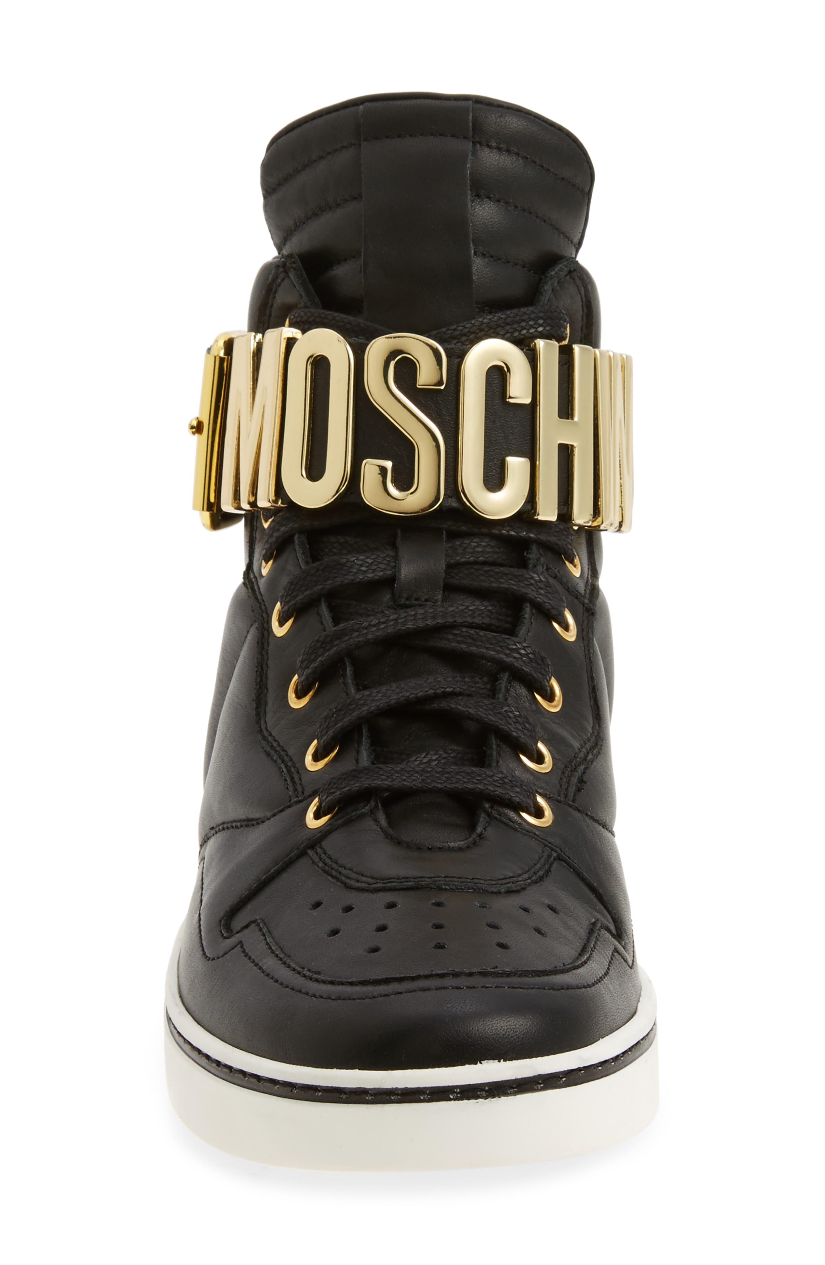 High Top Sneaker,                             Alternate thumbnail 4, color,                             001