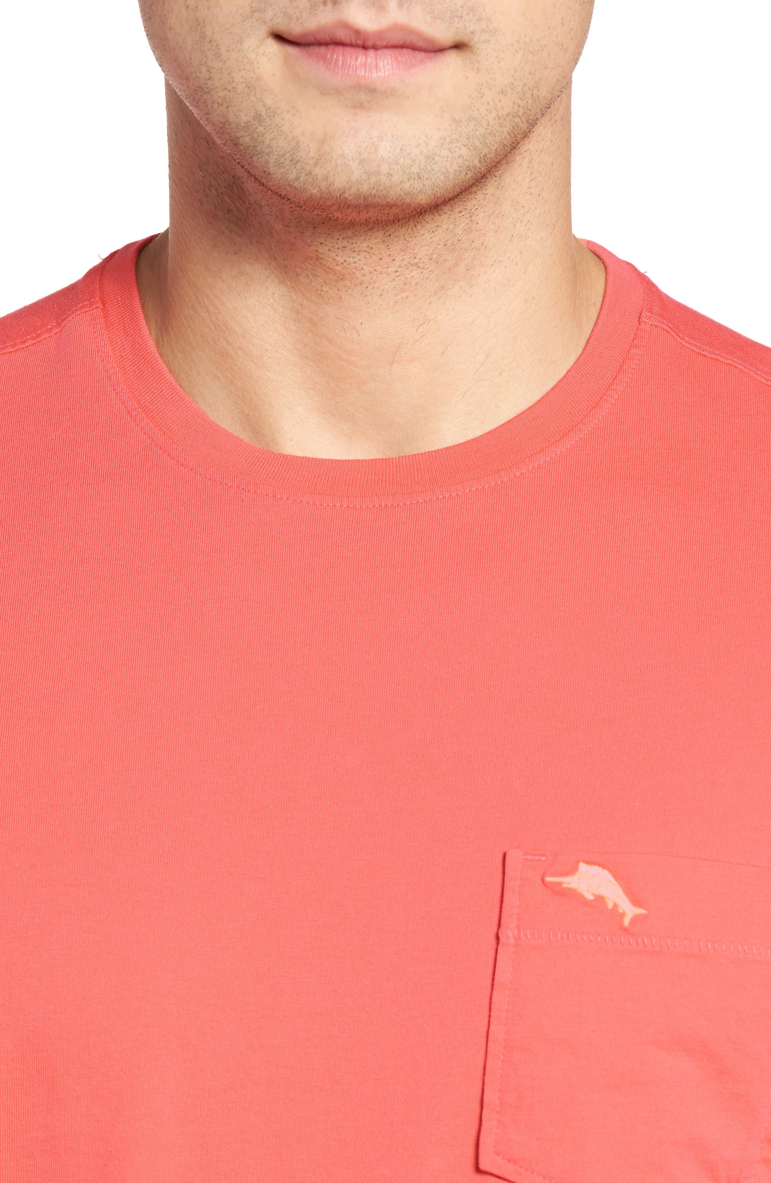 New Bali Sky Pima Cotton Pocket T-Shirt,                             Alternate thumbnail 111, color,