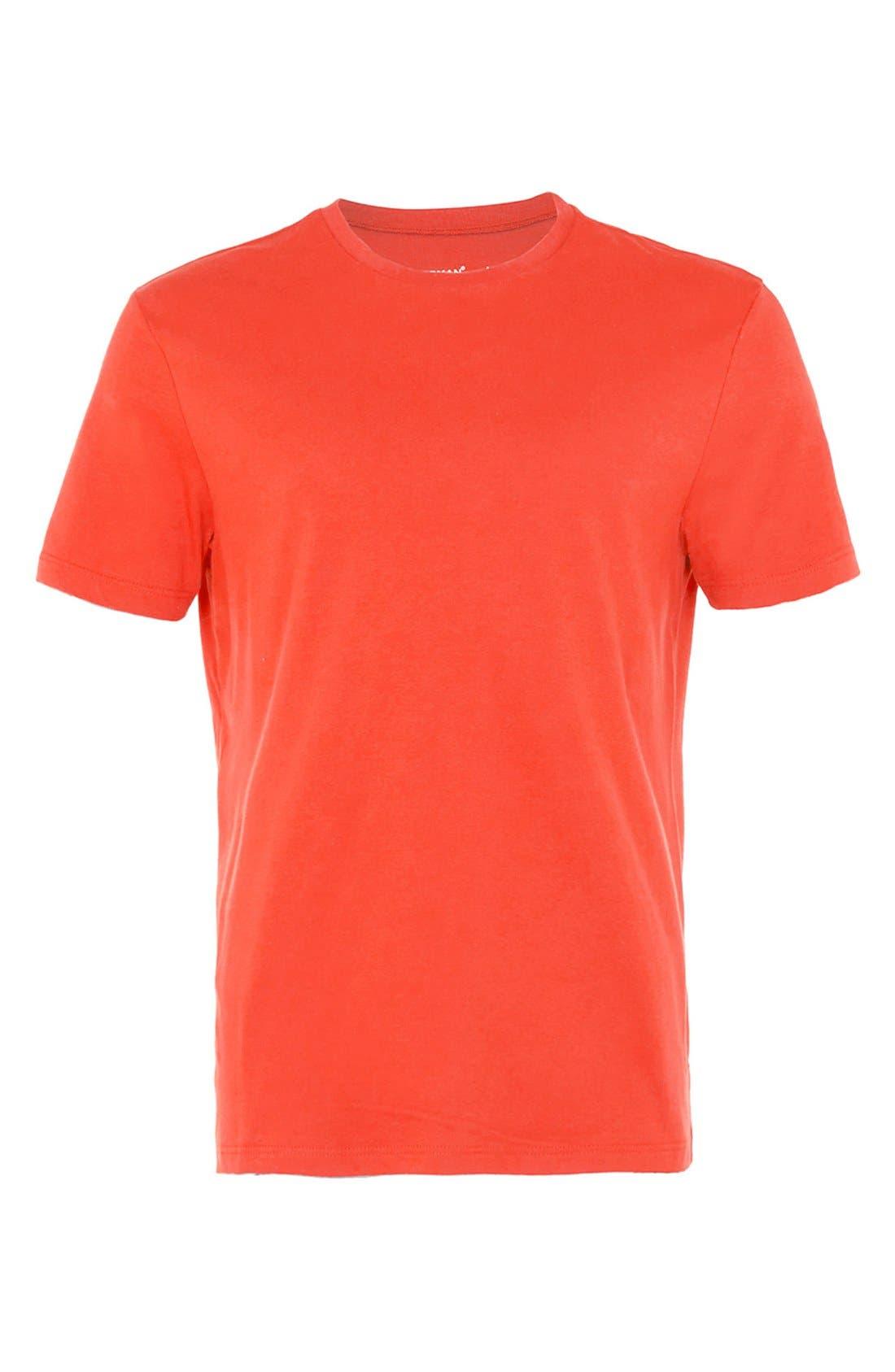 Slim Fit Crewneck T-Shirt,                             Alternate thumbnail 178, color,