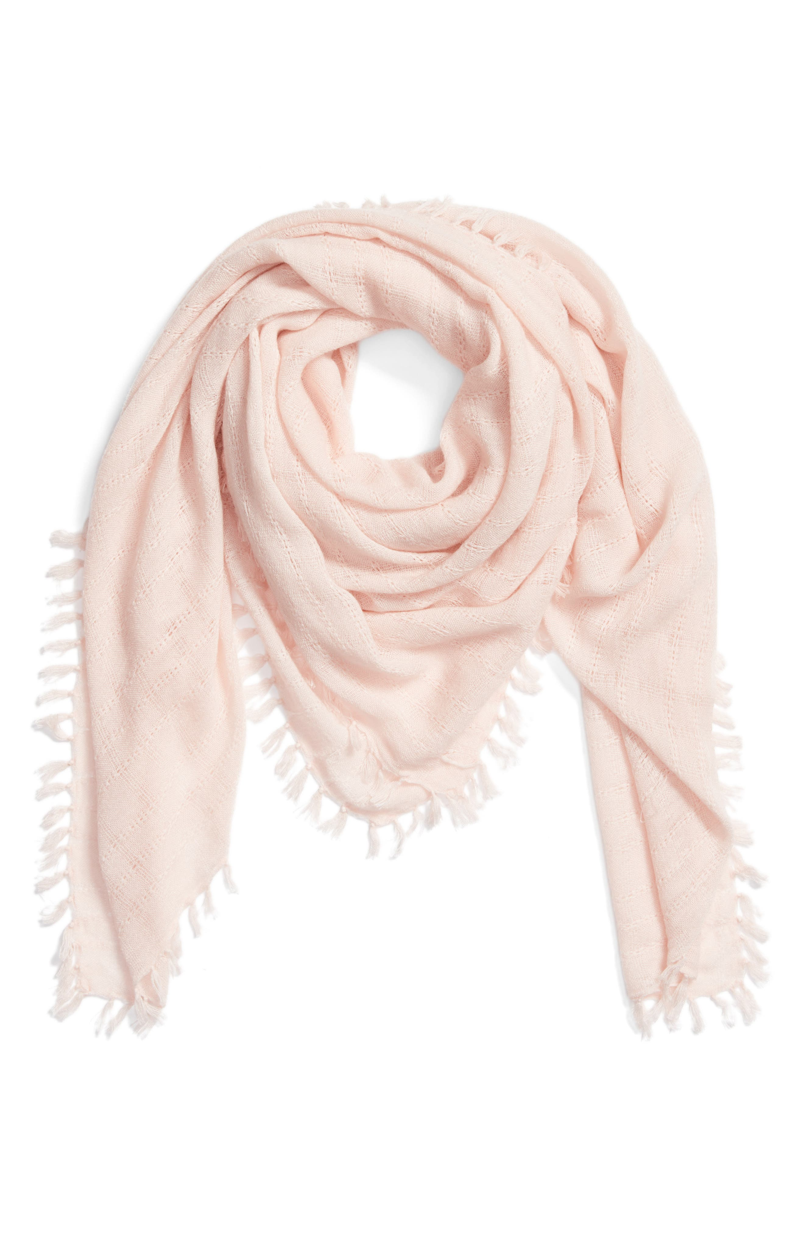 Knotted Tassel Scarf,                             Alternate thumbnail 9, color,
