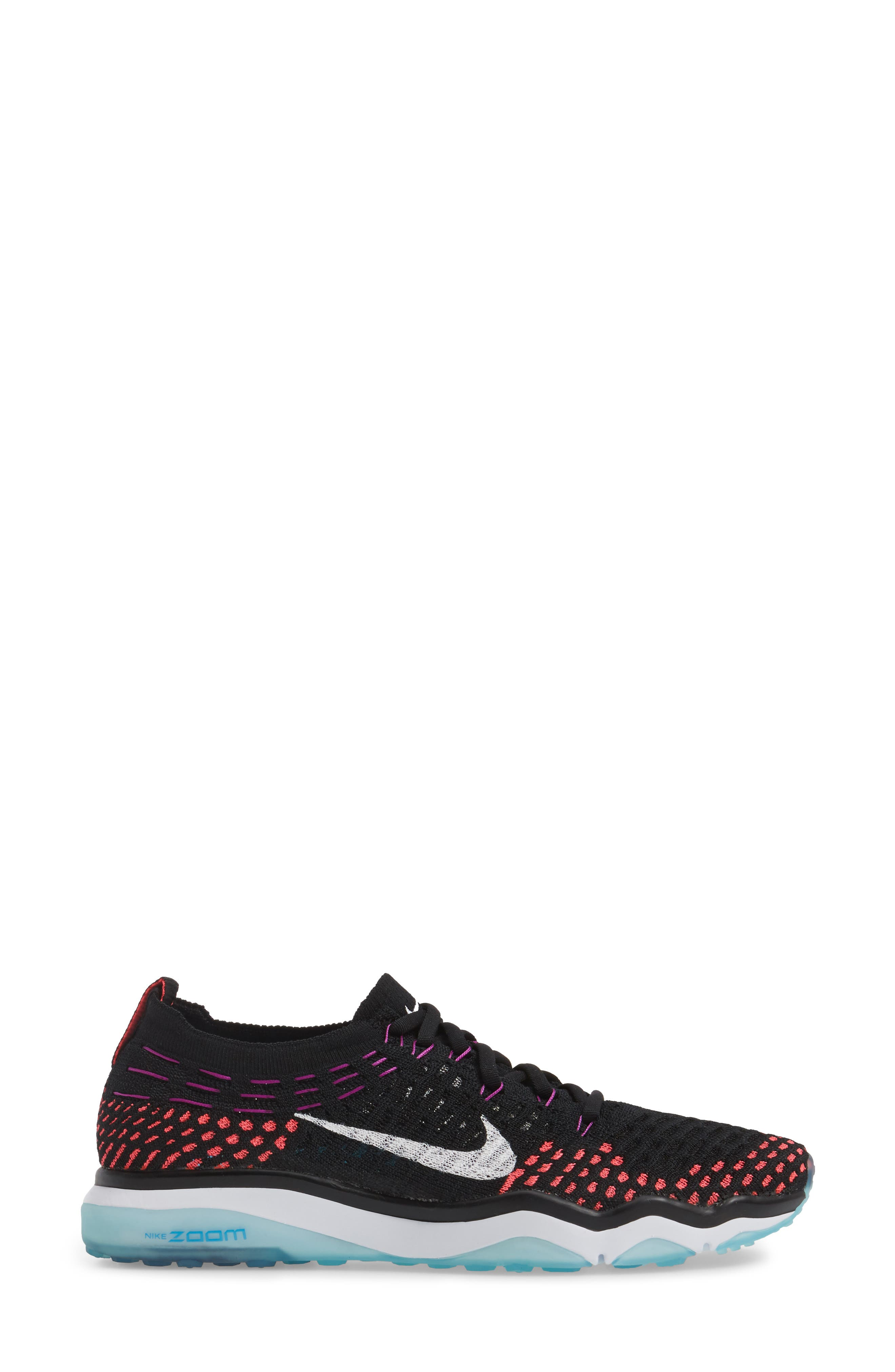 Air Zoom Fearless Flyknit Training Shoe,                             Alternate thumbnail 28, color,