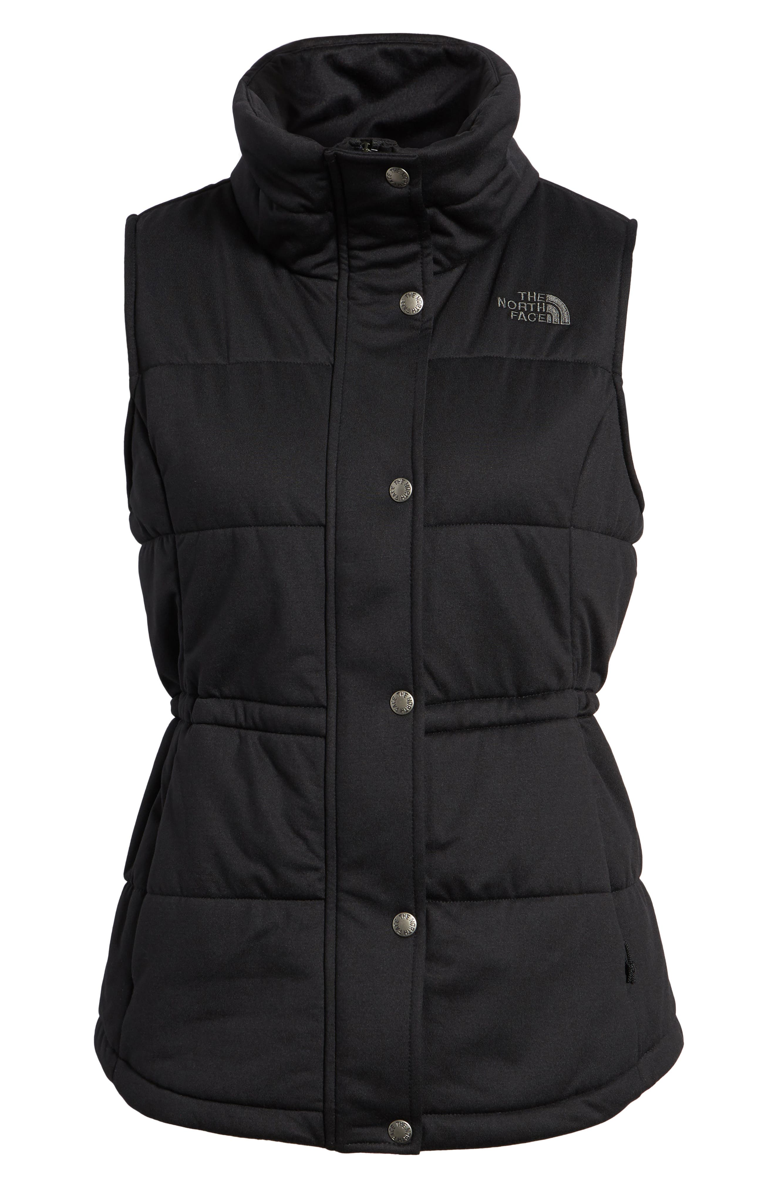 'Pseudio' Quilted Vest,                             Alternate thumbnail 6, color,                             003