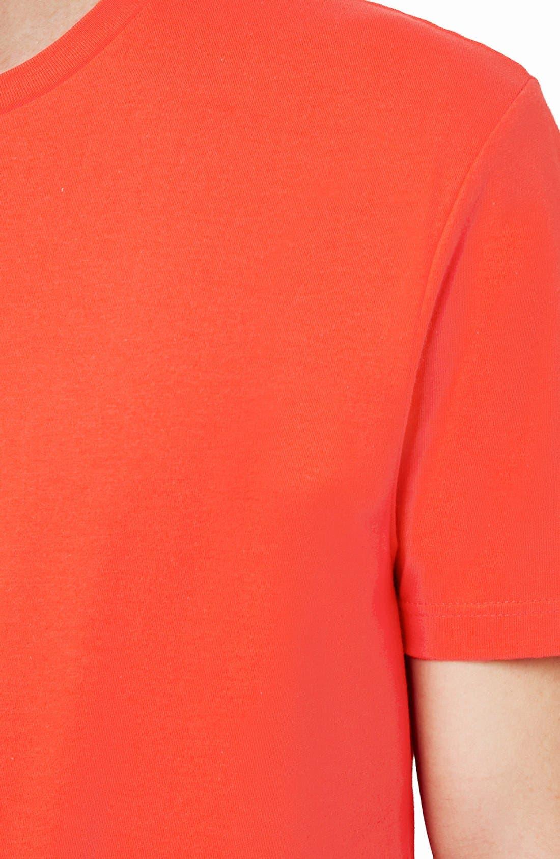 Slim Fit Crewneck T-Shirt,                             Alternate thumbnail 418, color,