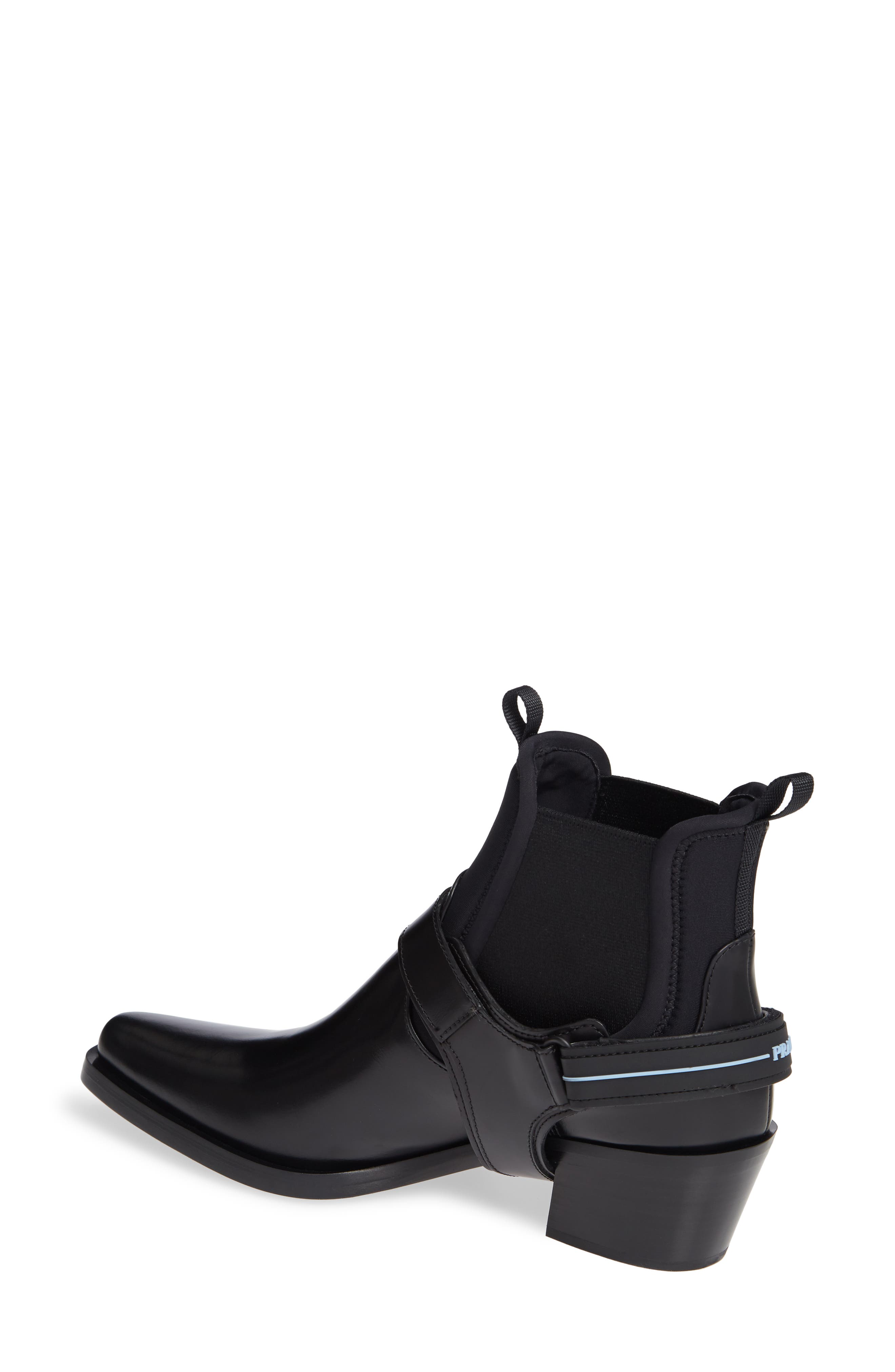 Clip Harness Chelsea Boot,                             Alternate thumbnail 2, color,                             BLACK