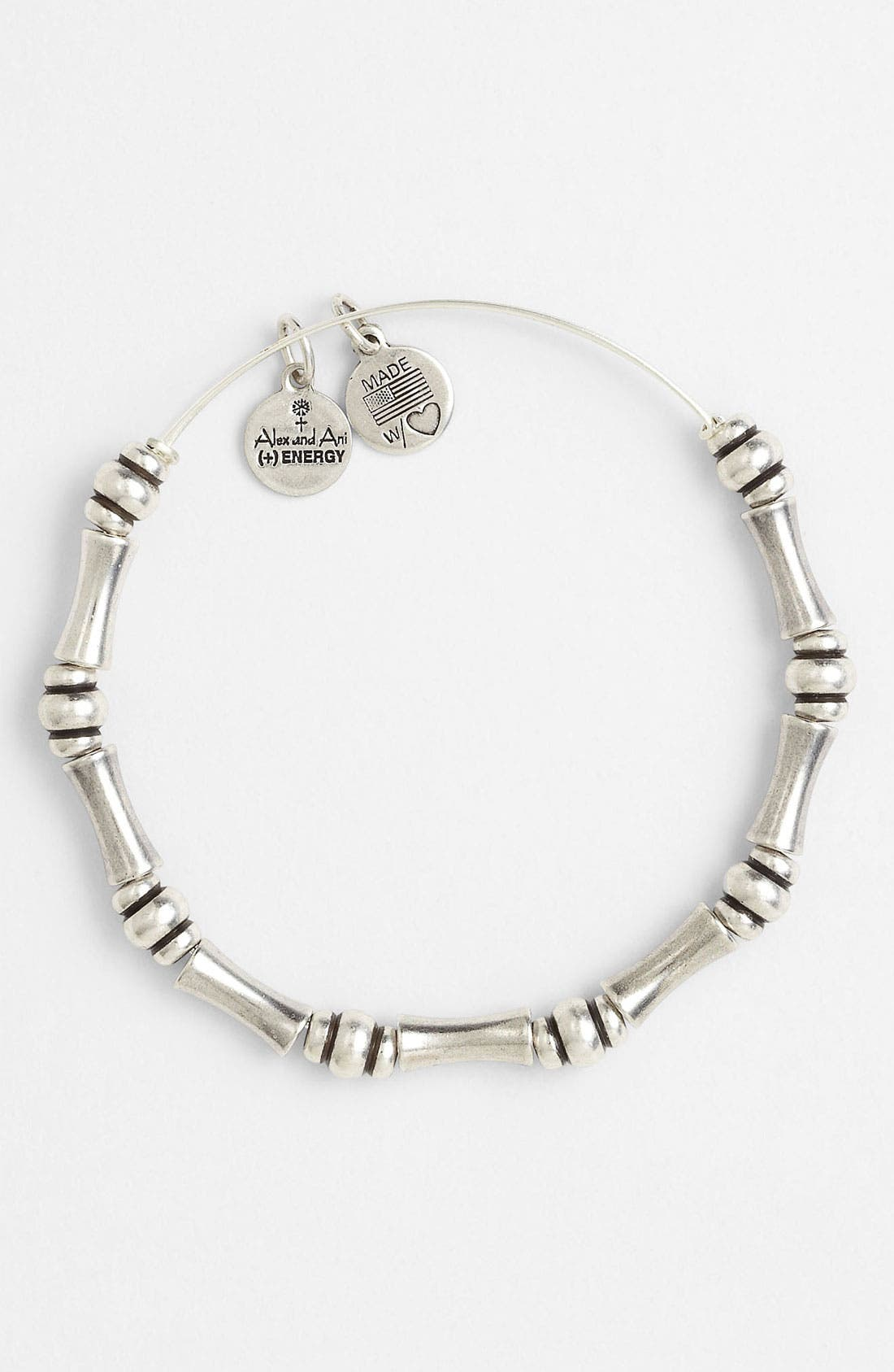 'Bamboo Motif' Expandable Wire Bracelet,                             Alternate thumbnail 3, color,                             040