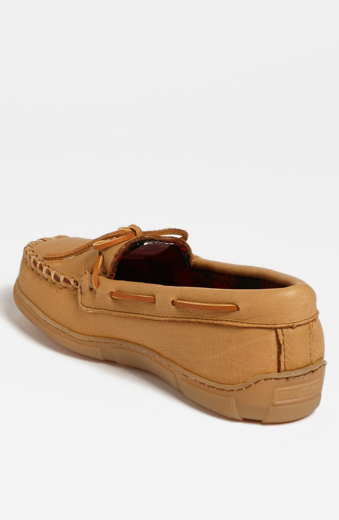 Moosehide Moccasin,                             Alternate thumbnail 2, color,                             NATURAL MOOSE