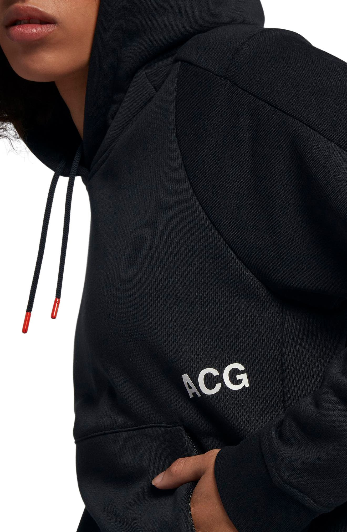 NikeLab ACG Women's Pullover Hoodie,                             Alternate thumbnail 10, color,