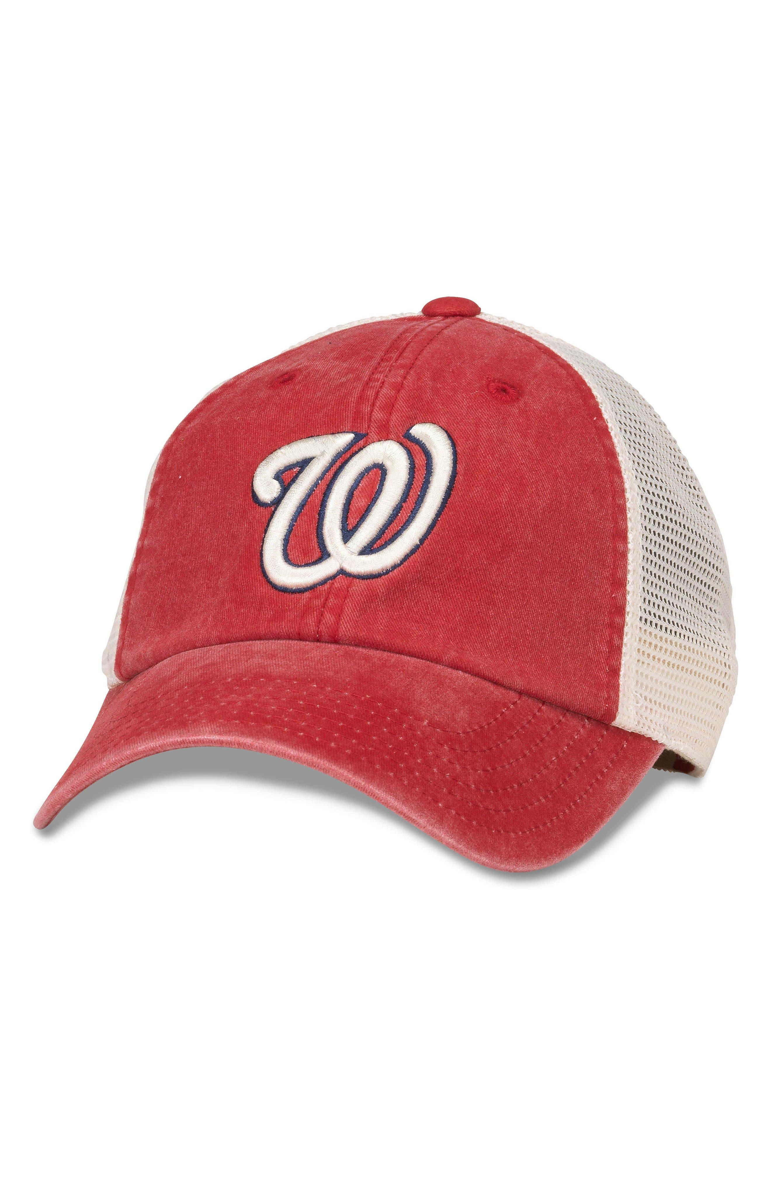 New School MLB Trucker Hat,                         Main,                         color, 106