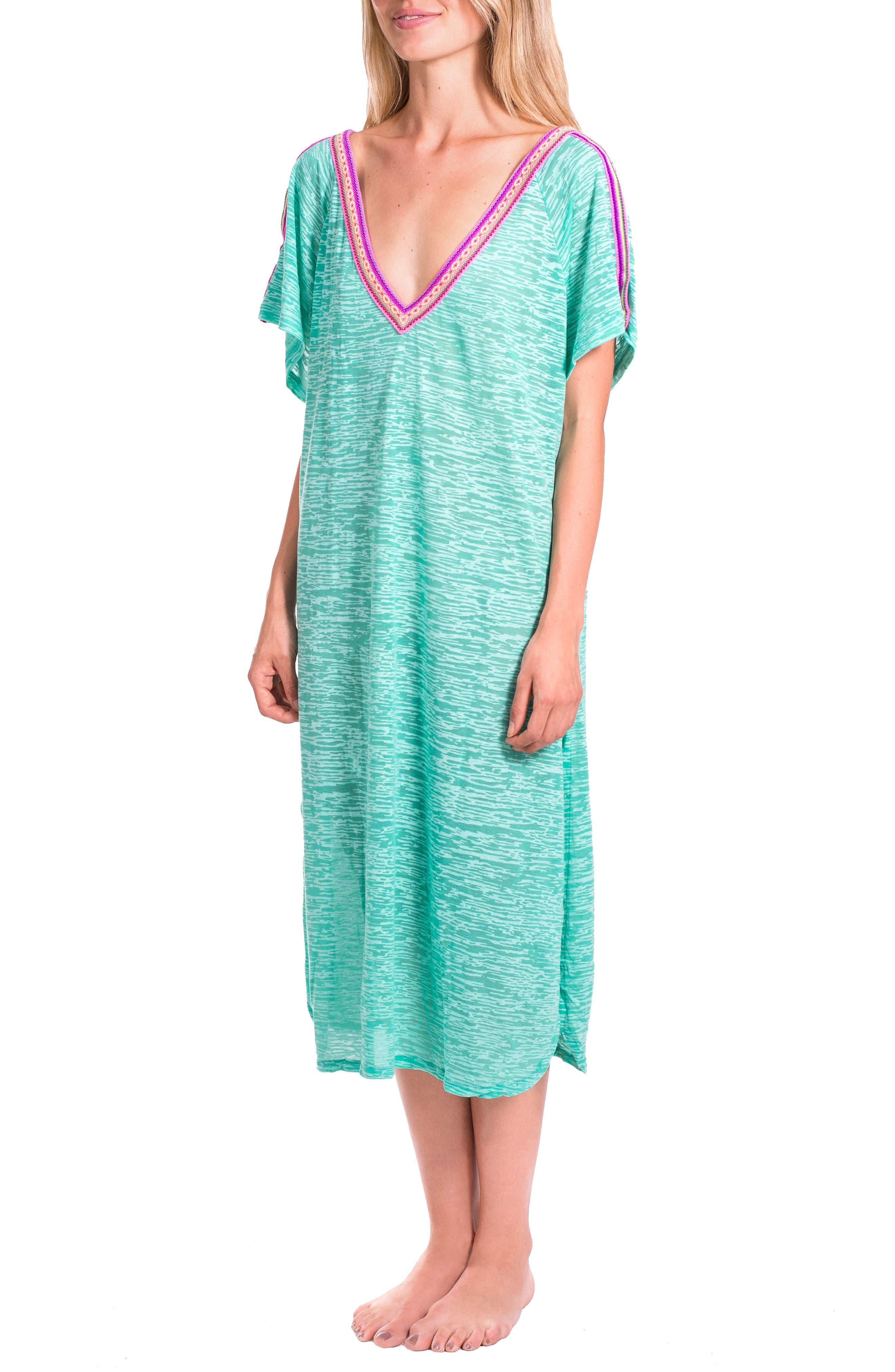 Cover-Up Midi Dress,                             Main thumbnail 3, color,