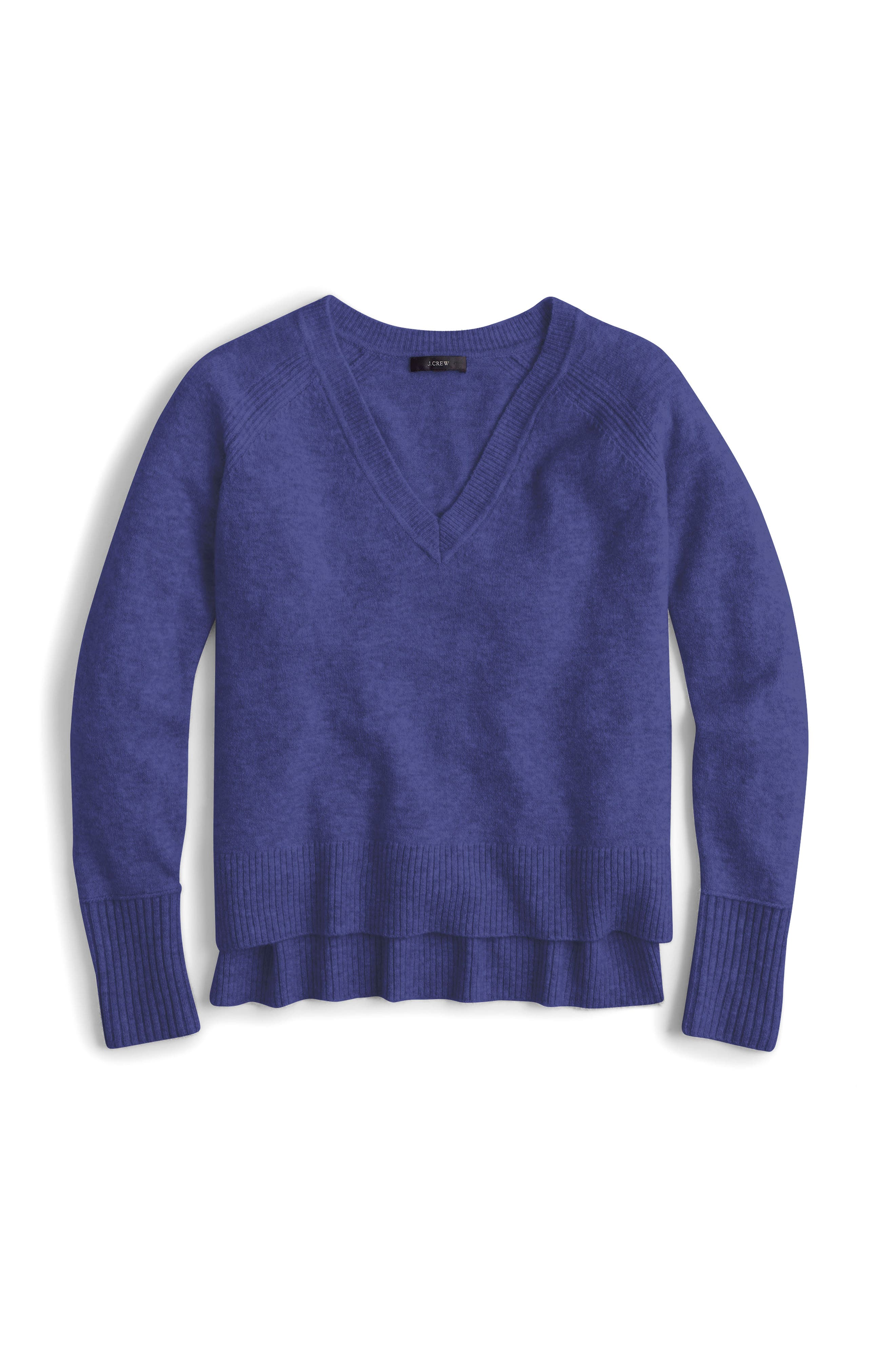 Supersoft Yarn V-Neck Sweater,                             Main thumbnail 9, color,