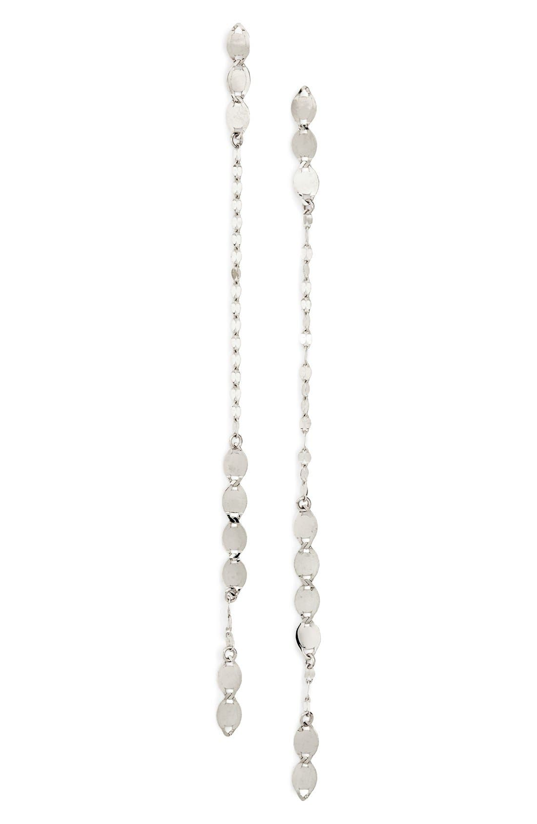 Linear Drop Earrings,                             Main thumbnail 1, color,                             711