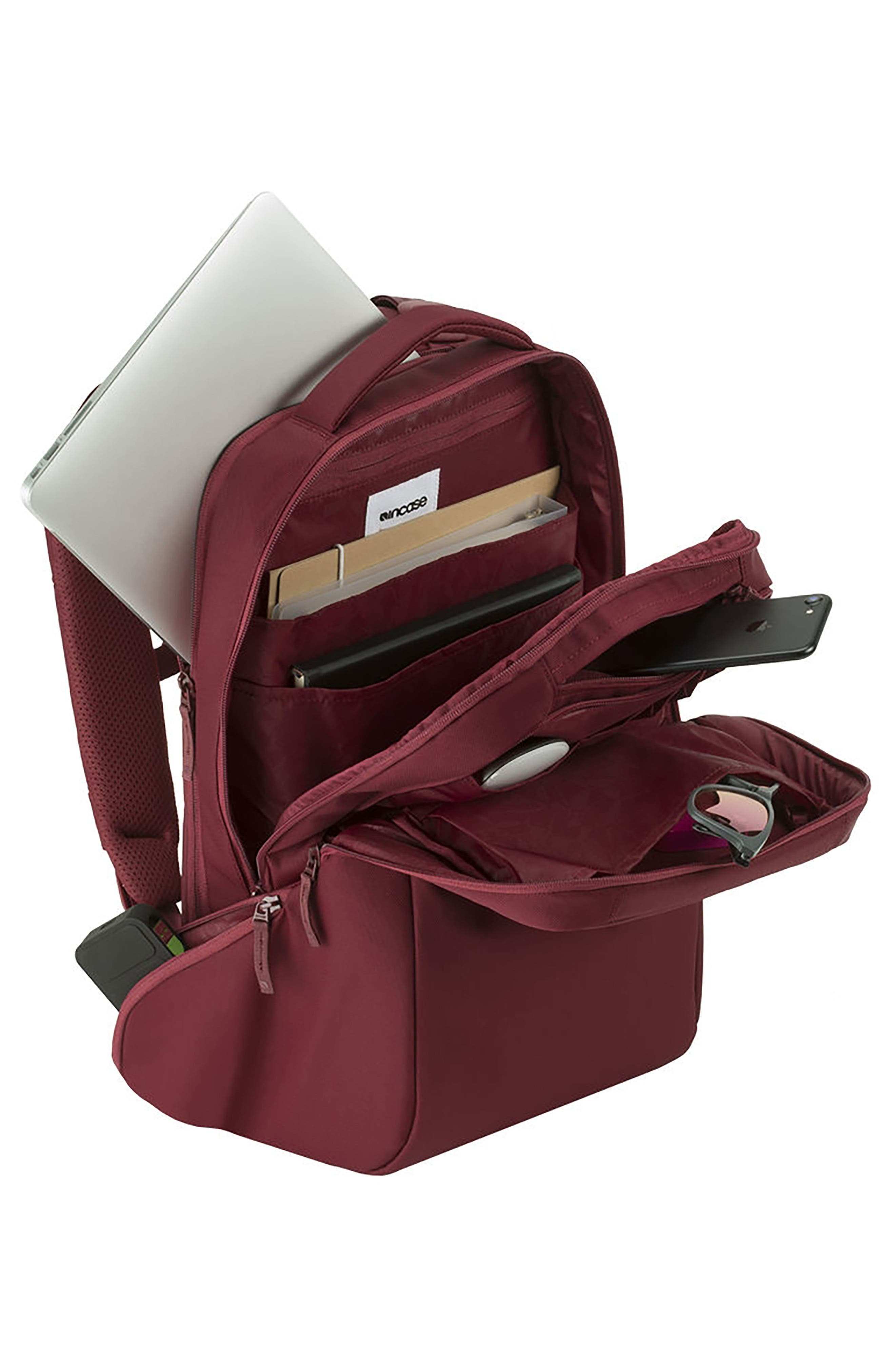 Icon Backpack,                             Alternate thumbnail 3, color,                             DEEP RED