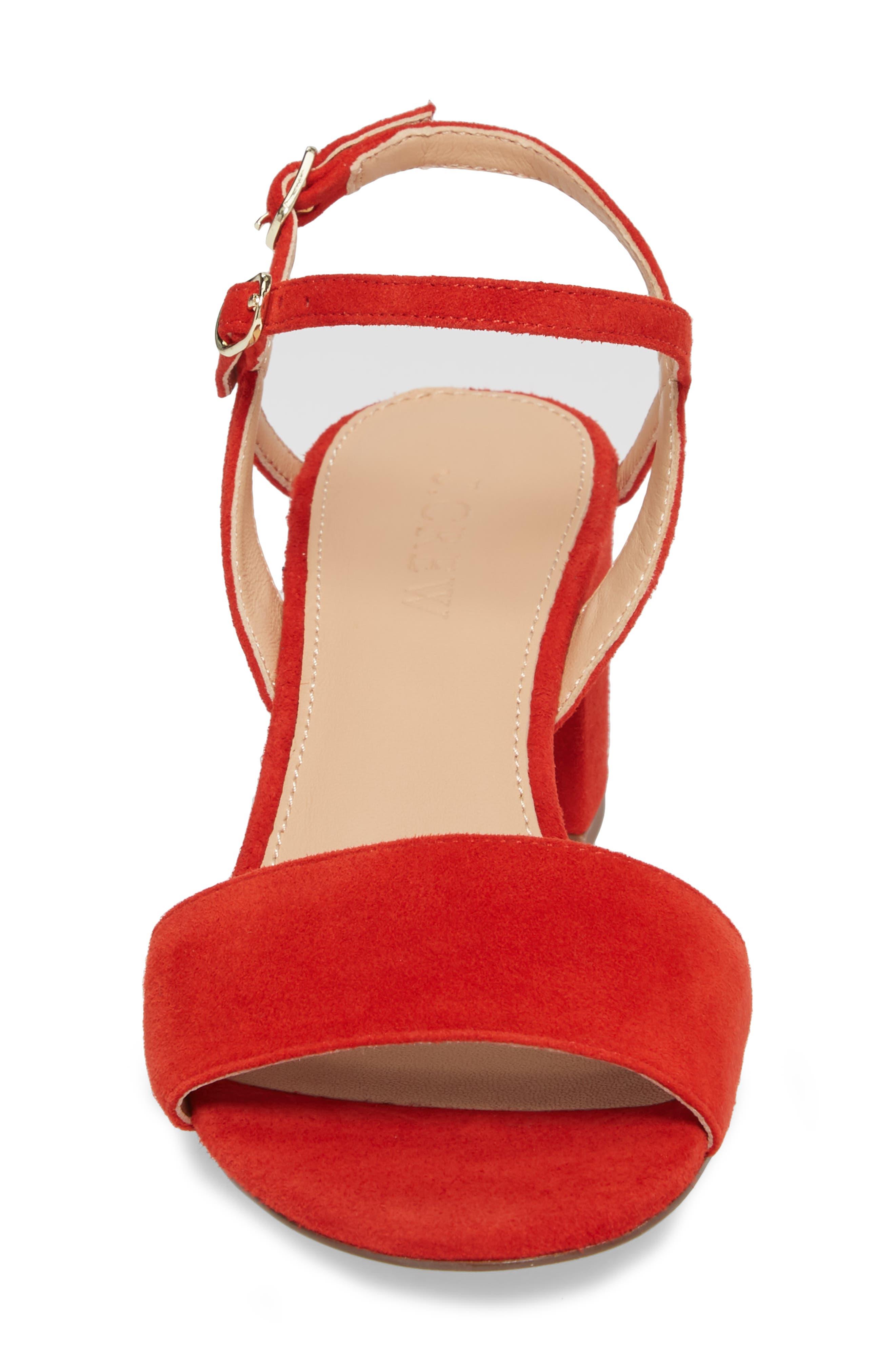 Strappy Block Heel Sandal,                             Alternate thumbnail 11, color,