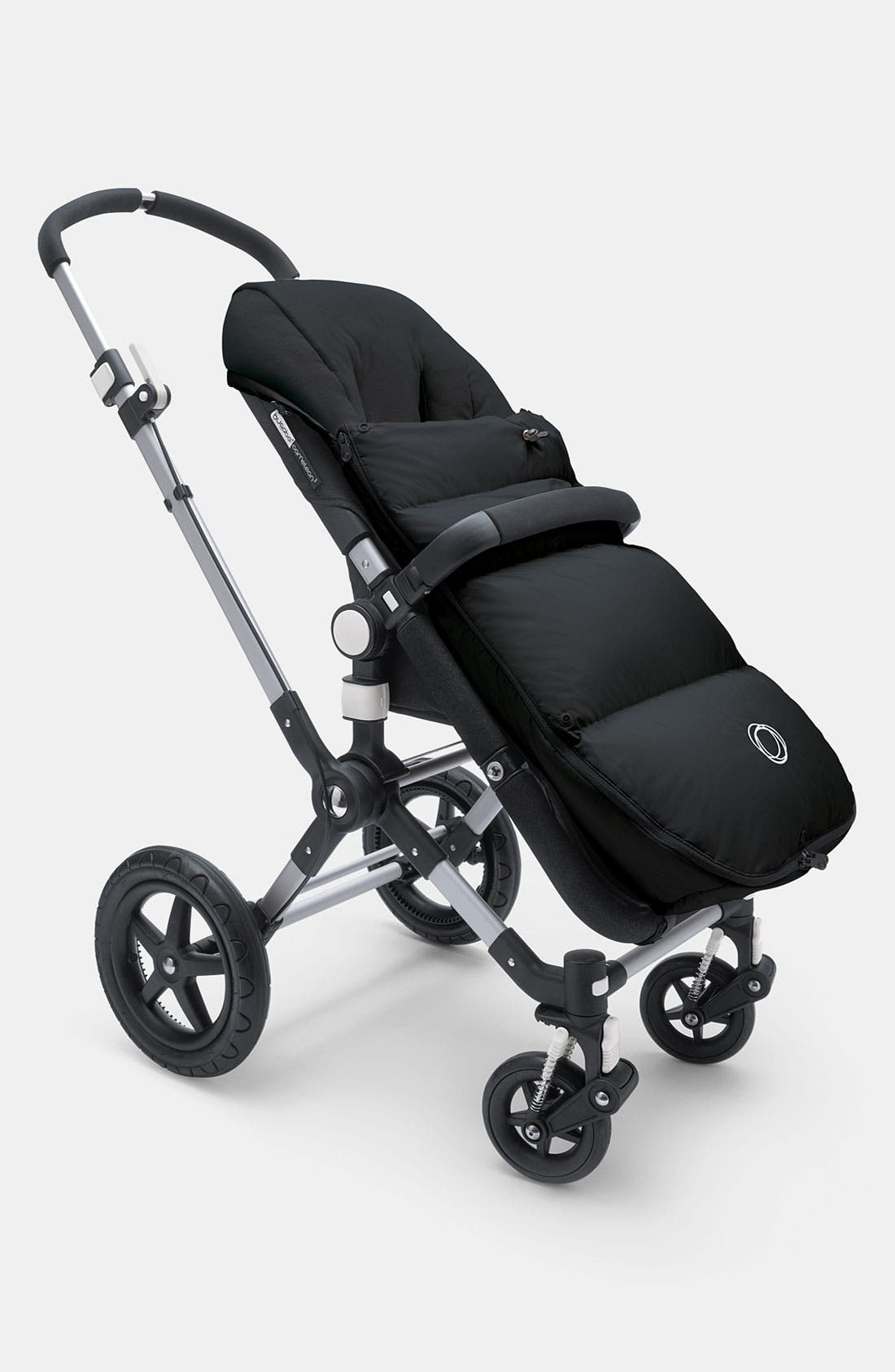'High Performance' Stroller Footmuff,                             Alternate thumbnail 3, color,                             001