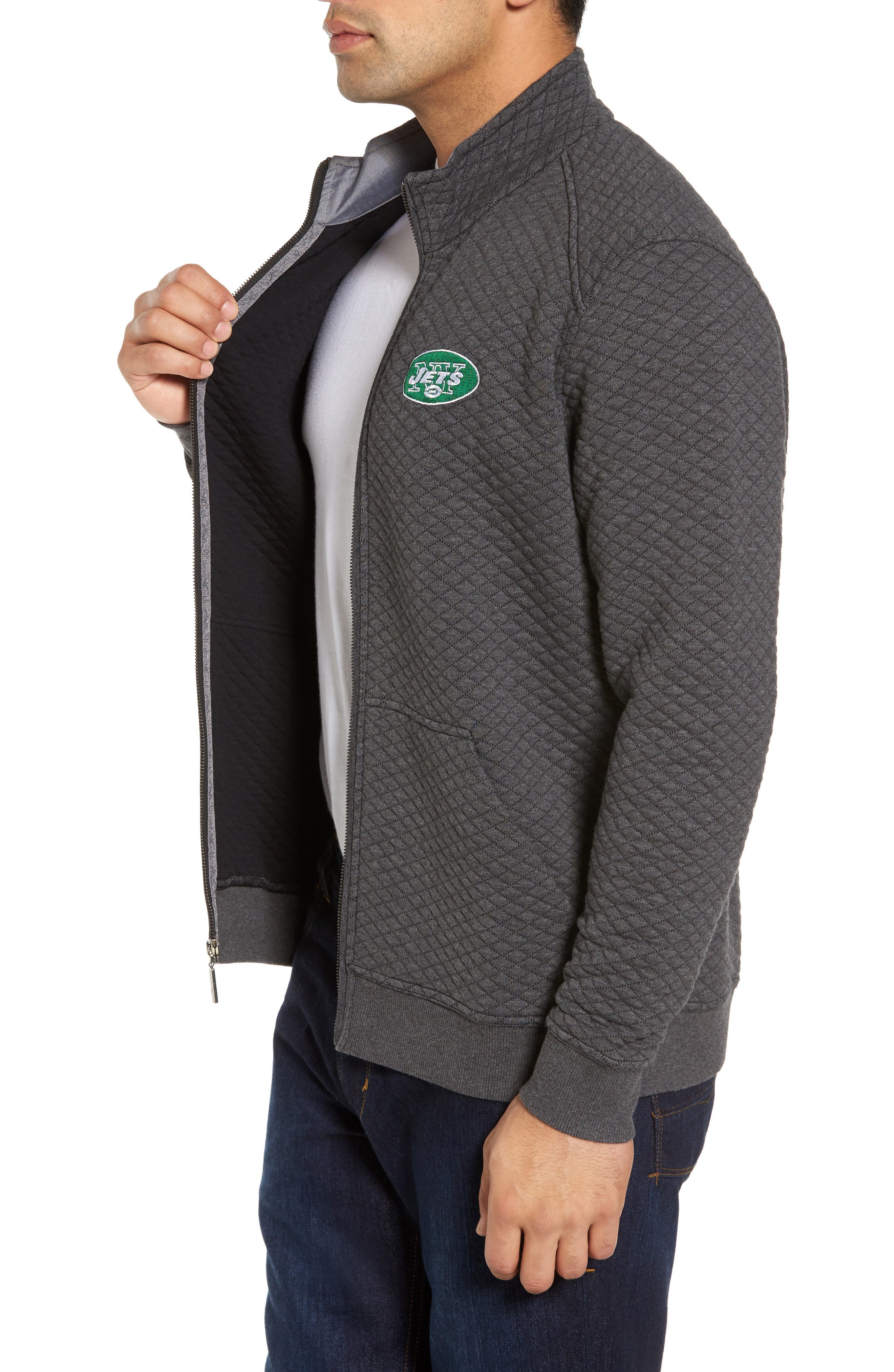 NFL Quiltessential Full Zip Sweatshirt,                             Alternate thumbnail 79, color,