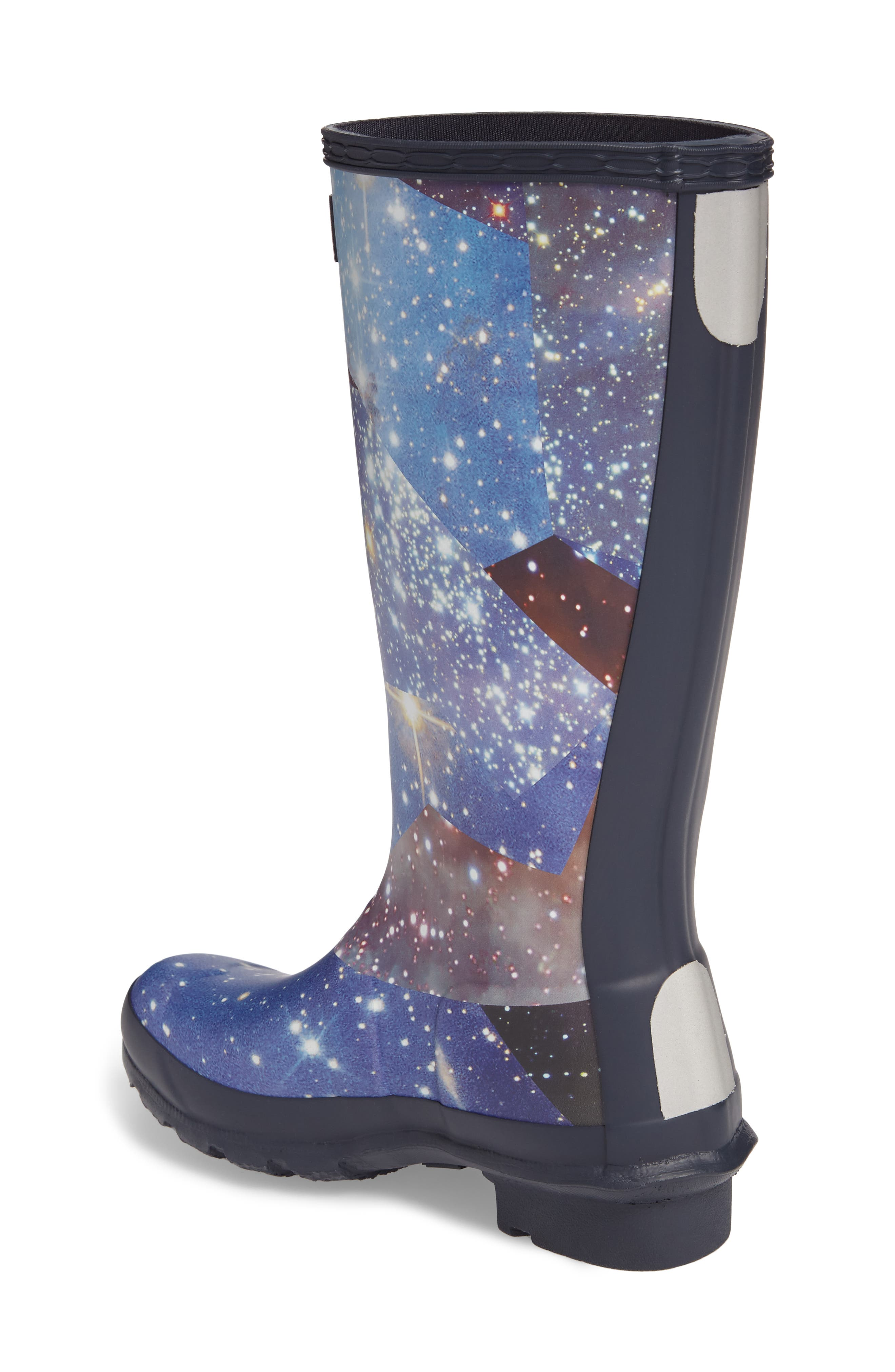 Space Camo Waterproof Rain Boot,                             Alternate thumbnail 2, color,
