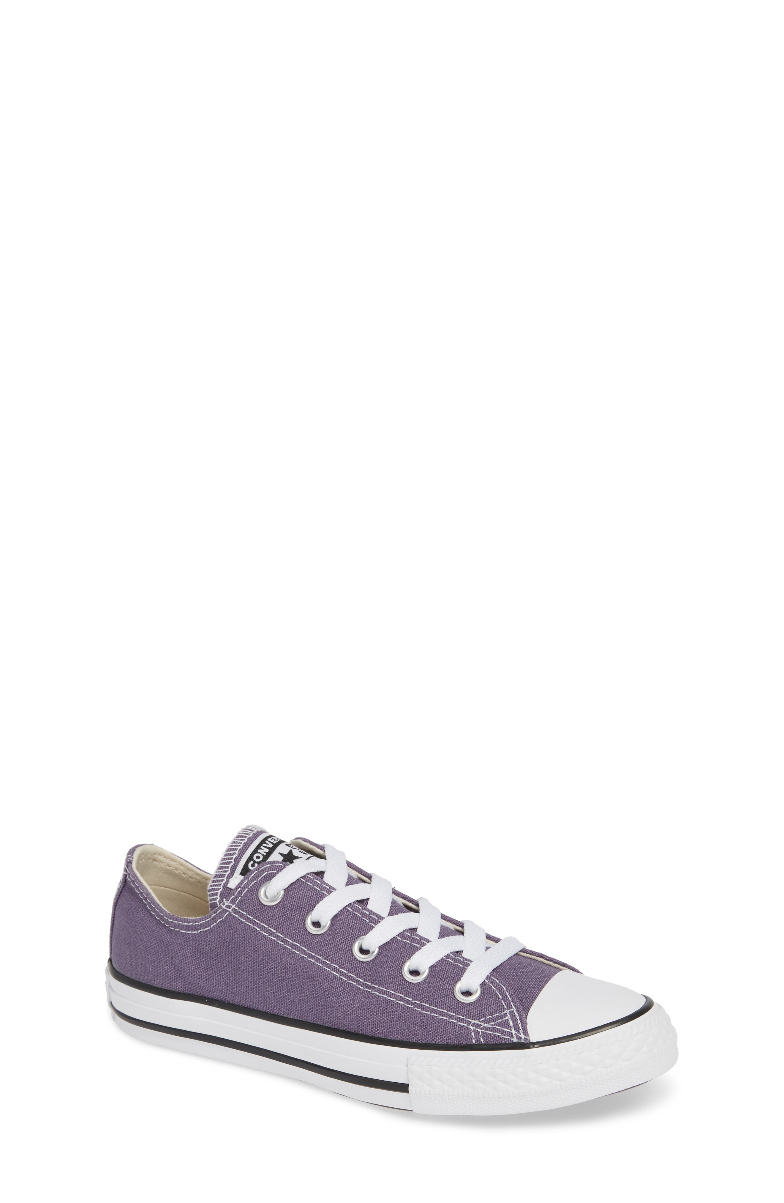 CONVERSE Chuck Taylor<sup>®</sup> Sneaker, Main, color, MOODY PURPLE/ NATURAL IVORY