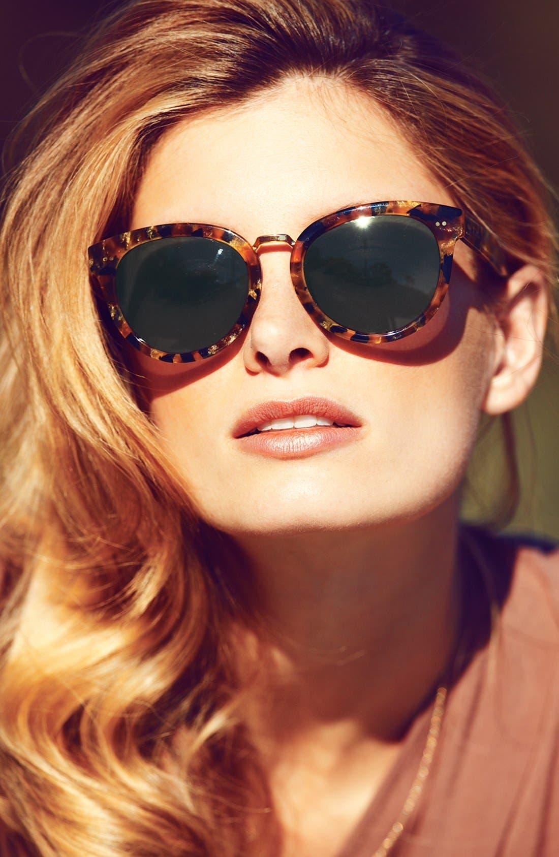 'Yvette' 52mm Sunglasses,                             Alternate thumbnail 2, color,                             300