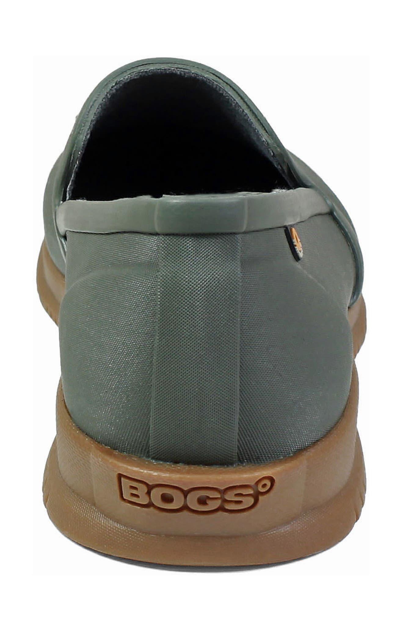 BOGS,                             Sweetpea Waterproof Slip-On Sneaker,                             Alternate thumbnail 7, color,                             SAGE