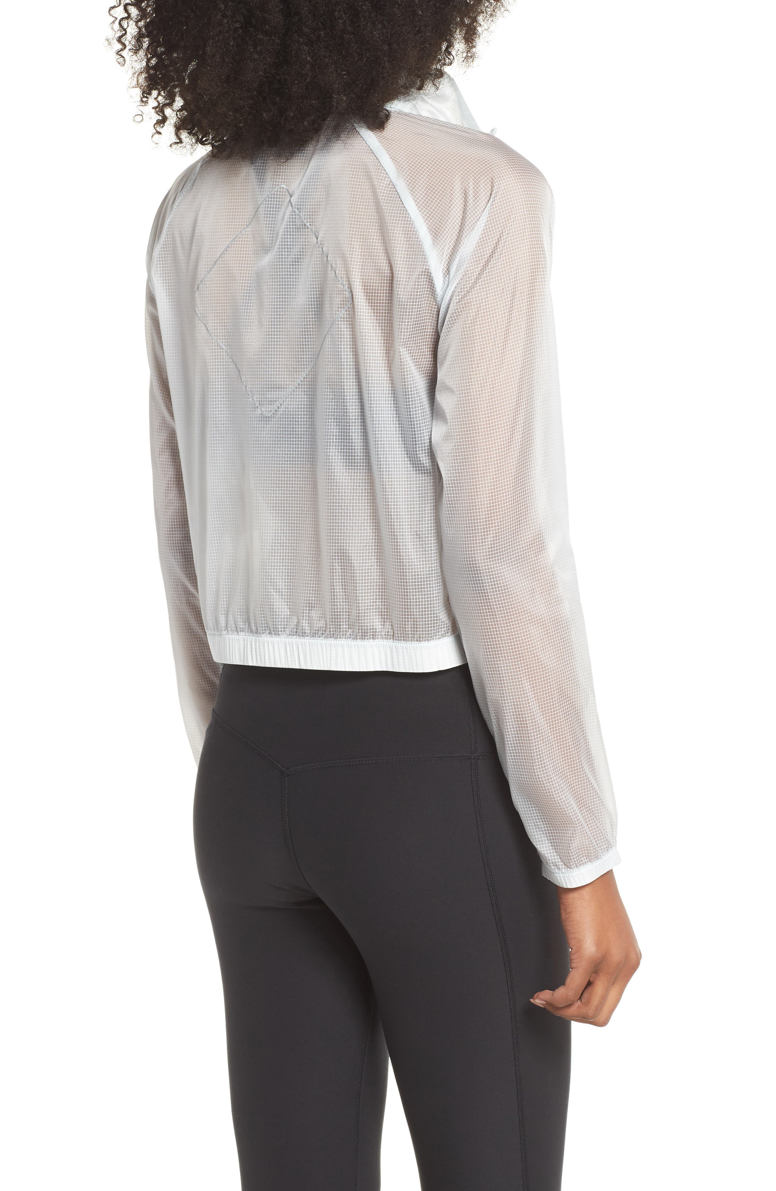 Transparent Running Jacket,                             Alternate thumbnail 2, color,                             026
