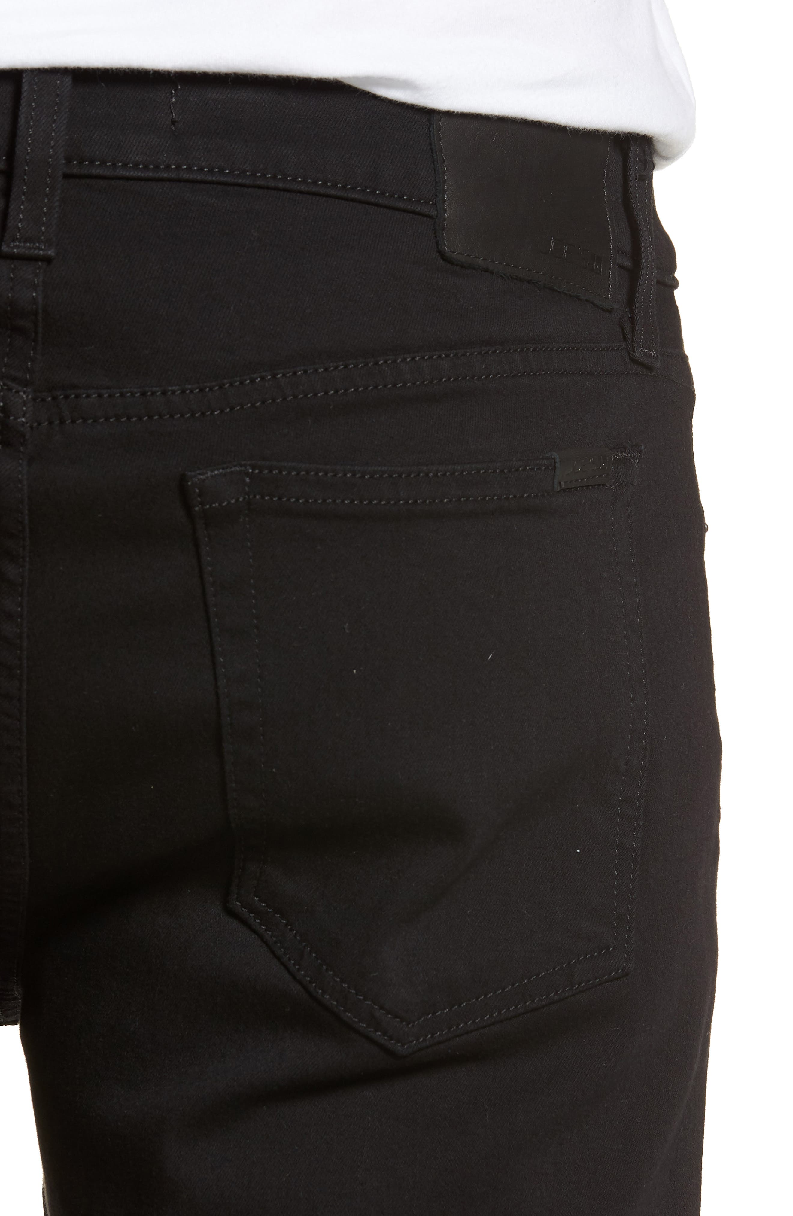 Brixton Slim Straight Fit Jeans,                             Alternate thumbnail 4, color,                             ABRAHAM