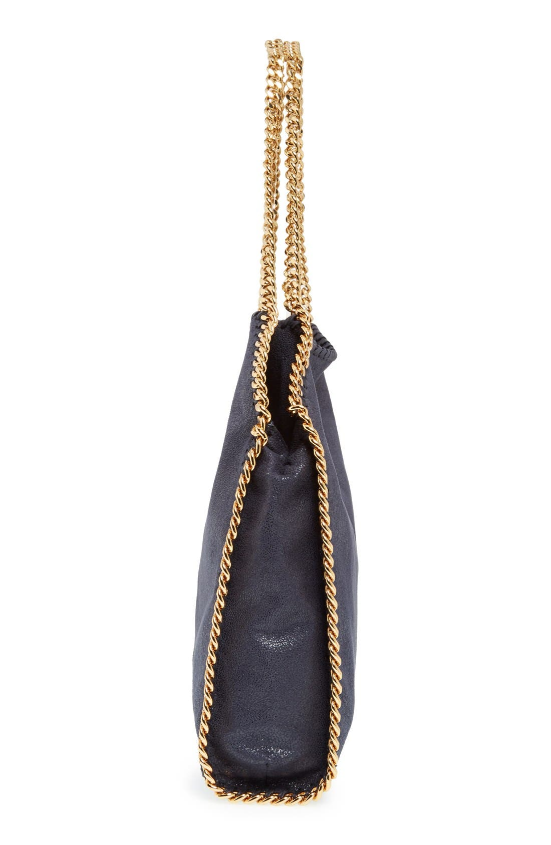 'Small Falabella - Shaggy Deer' Faux Leather Tote,                             Alternate thumbnail 5, color,                             400