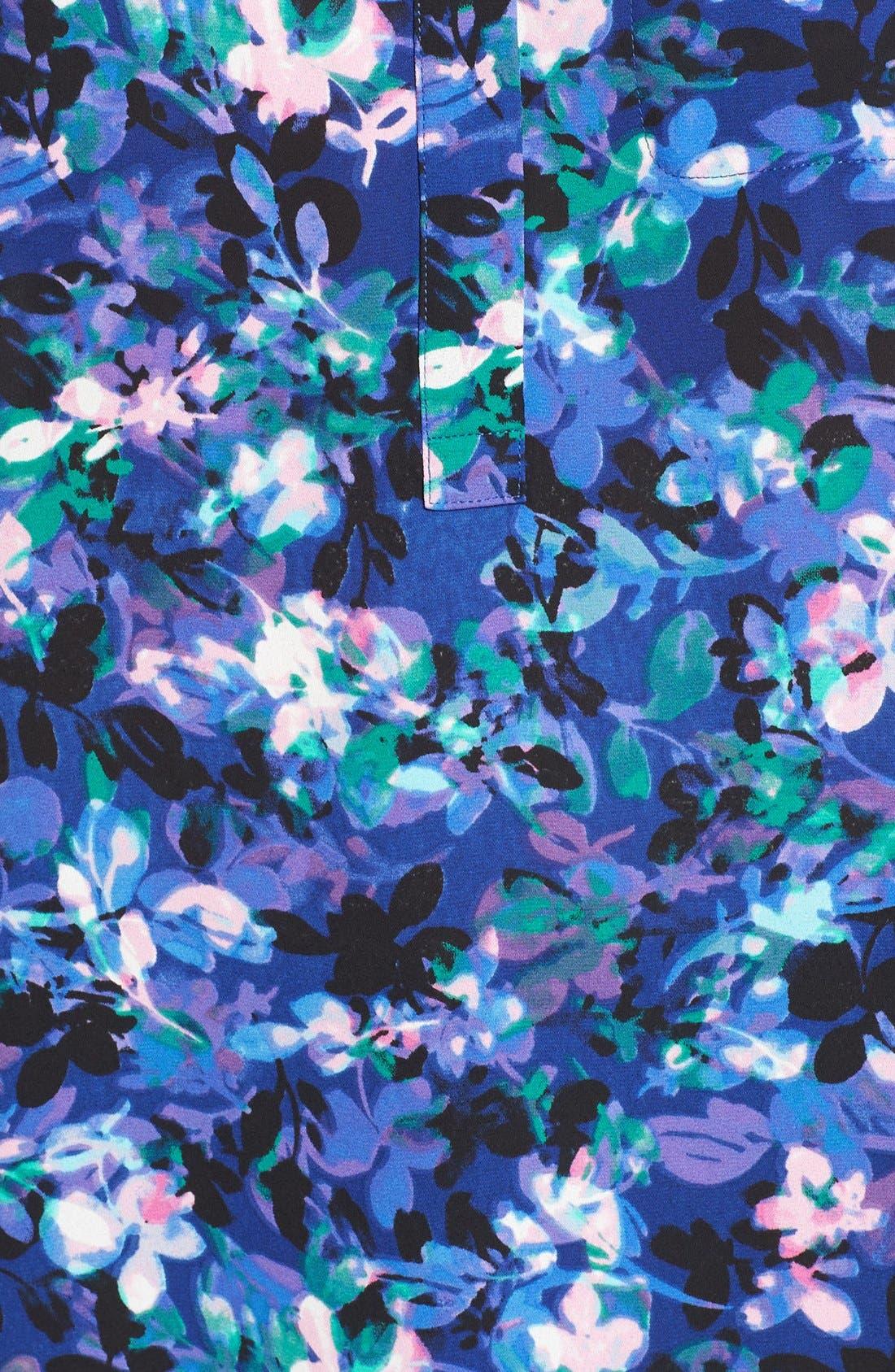 Henley Blouse,                             Alternate thumbnail 540, color,