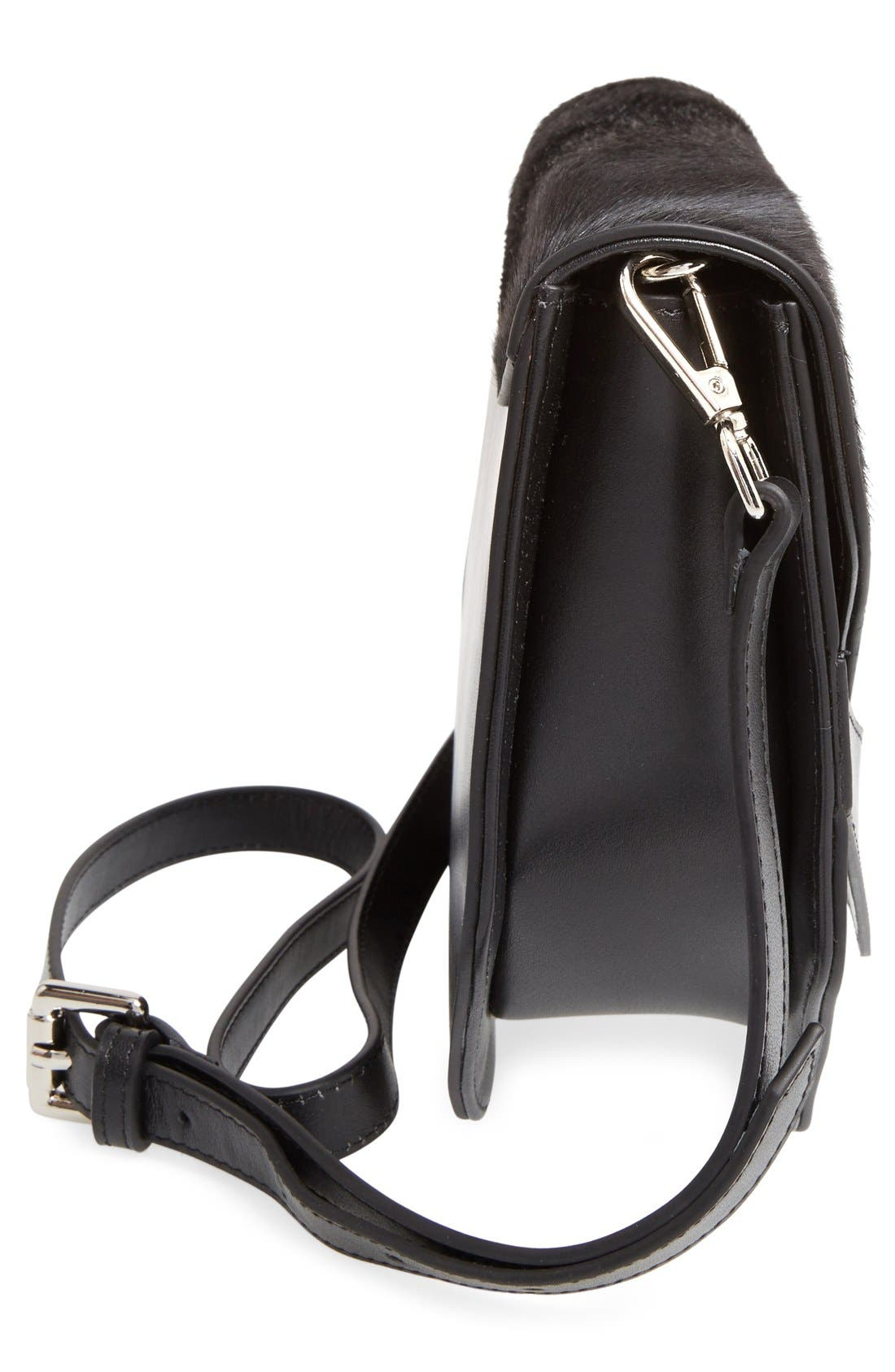 'The Eclipse' Crossbody Bag,                             Alternate thumbnail 5, color,                             001