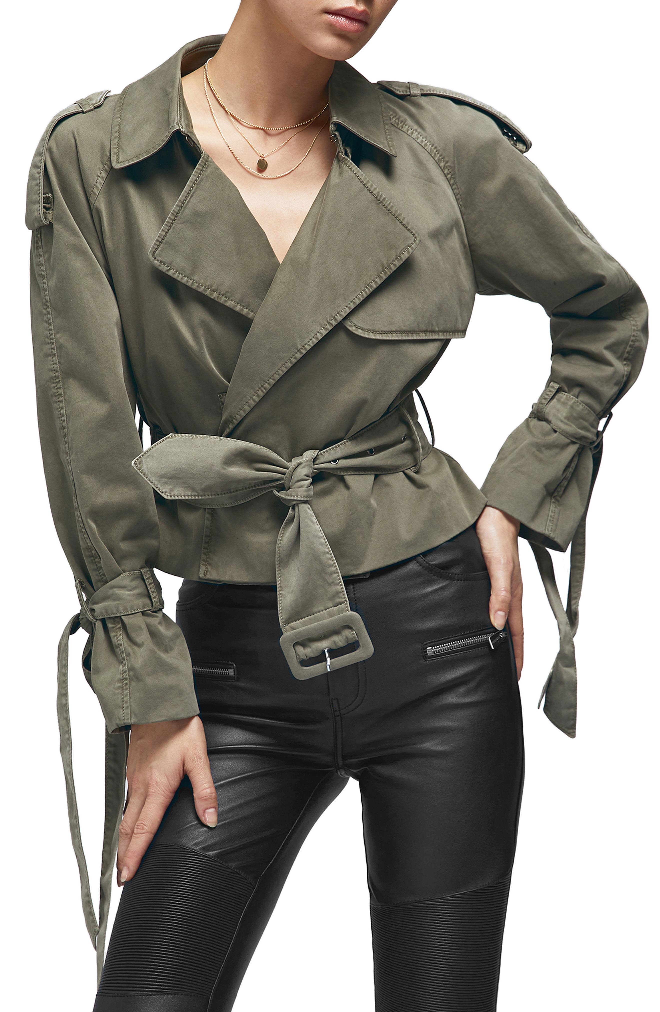 ANINE BING,                             Aria Trench Jacket,                             Main thumbnail 1, color,                             300