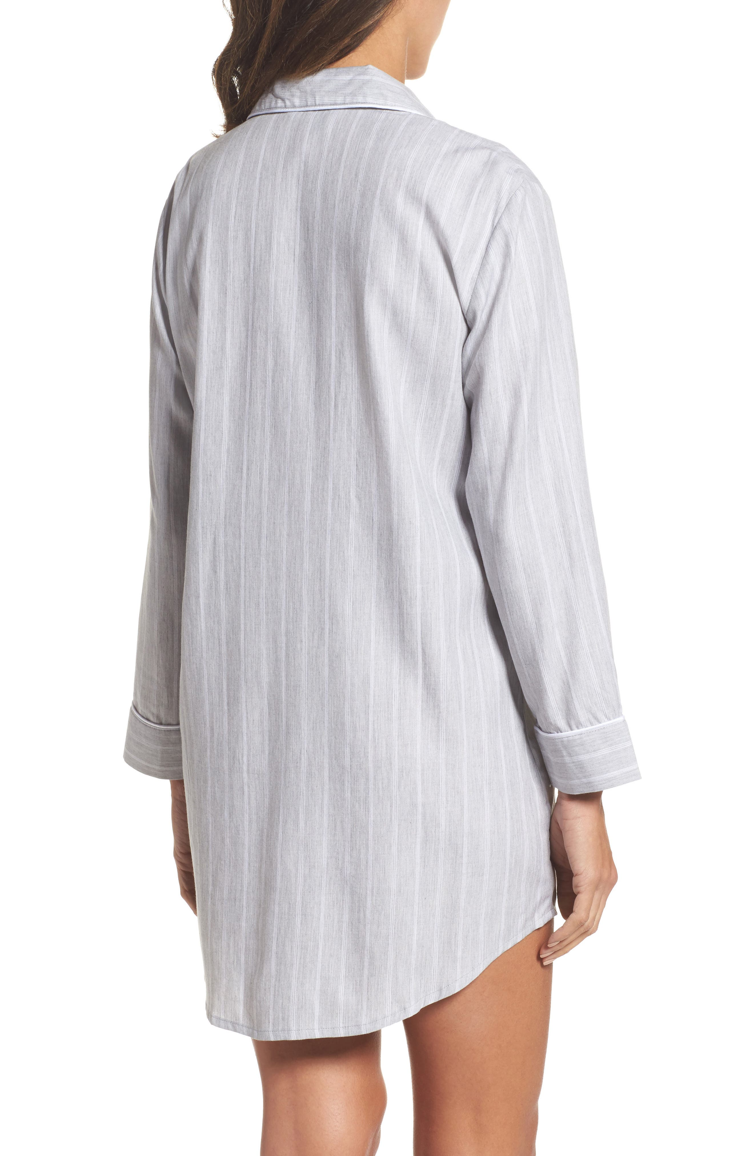 Notch Collar Sleep Shirt,                             Alternate thumbnail 2, color,                             060