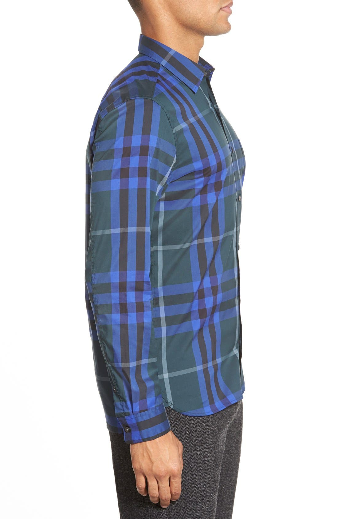 Nelson Check Sport Shirt,                             Alternate thumbnail 61, color,