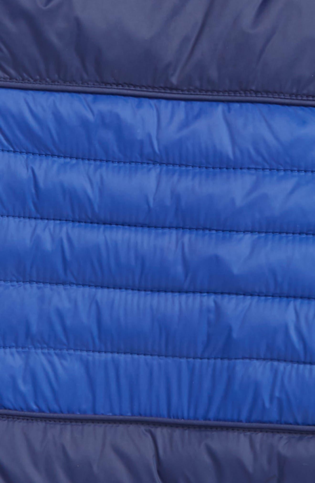 MOOSE KNUCKLES,                             Peel Quilted Hooded Jacket,                             Alternate thumbnail 2, color,                             NAVY