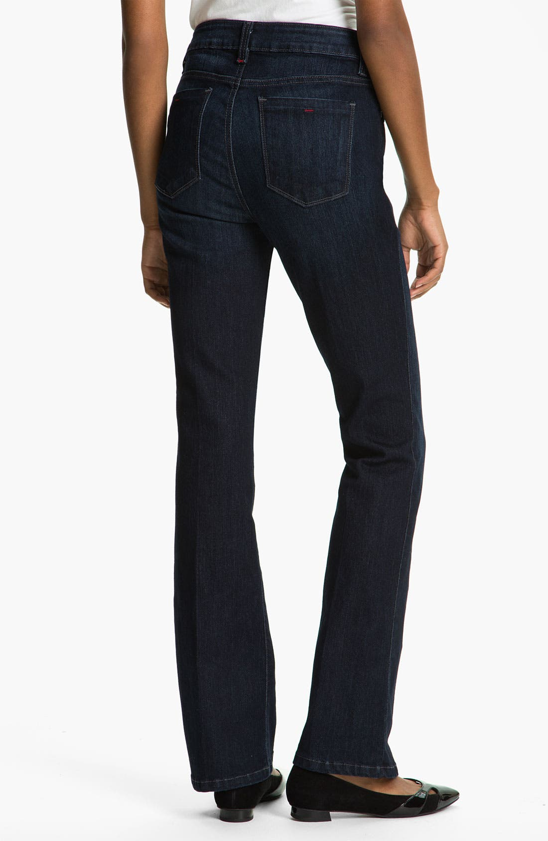 'Betty' Bootcut Stretch Jeans,                             Alternate thumbnail 4, color,                             400