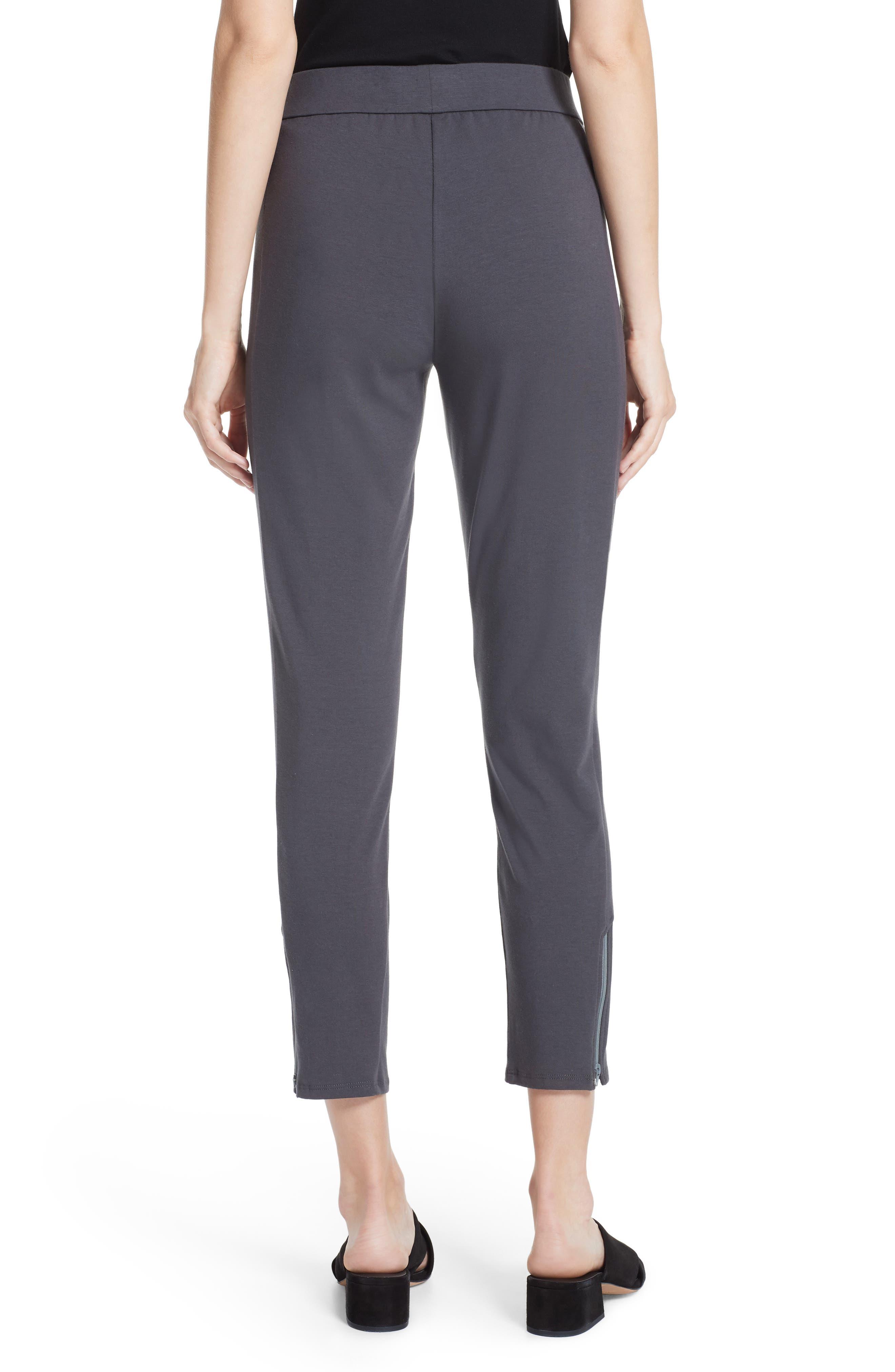 Slim Stretch Cotton Pants,                             Alternate thumbnail 2, color,