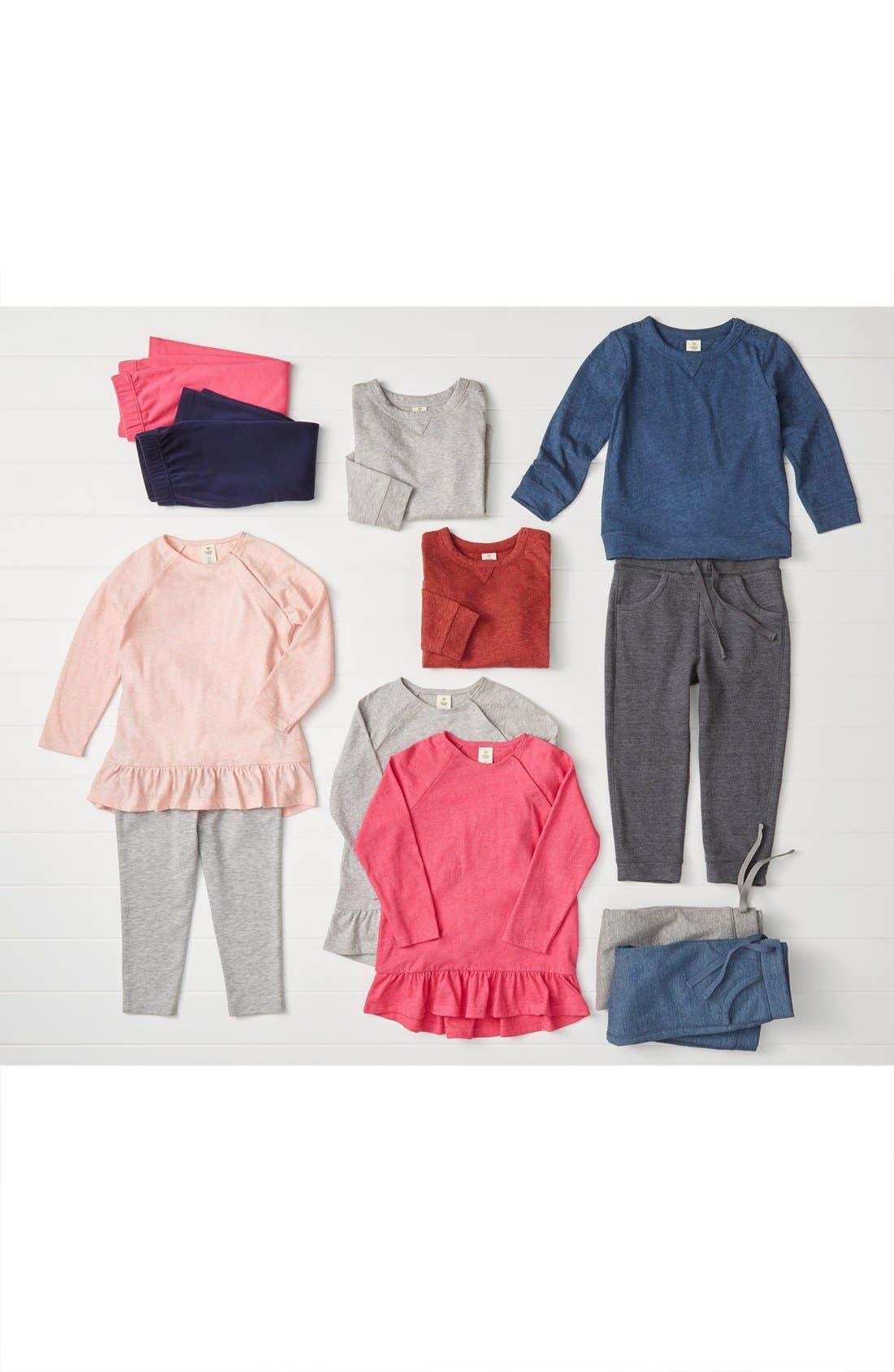 Fleece Sweatpants,                             Alternate thumbnail 4, color,                             GREY CHARCOAL HEATHER