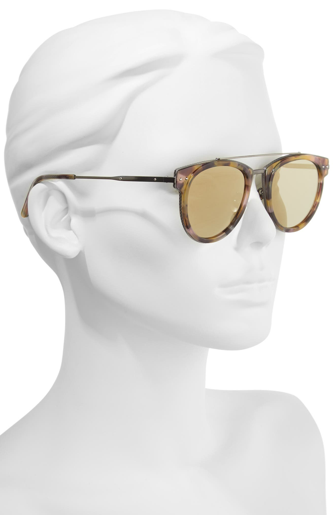 50mm Sunglasses,                             Alternate thumbnail 2, color,                             AVANA BROWN