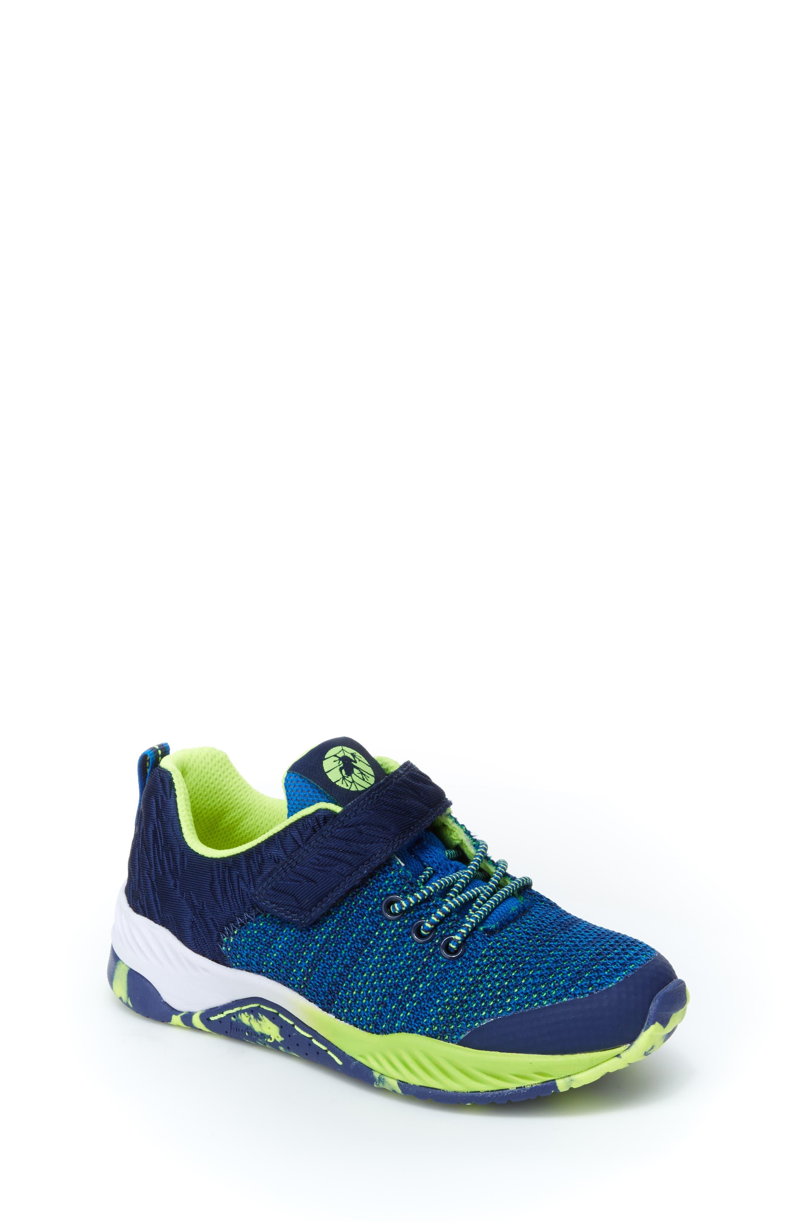 Talon Knit Sneaker,                         Main,                         color, NAVY TEXTILE