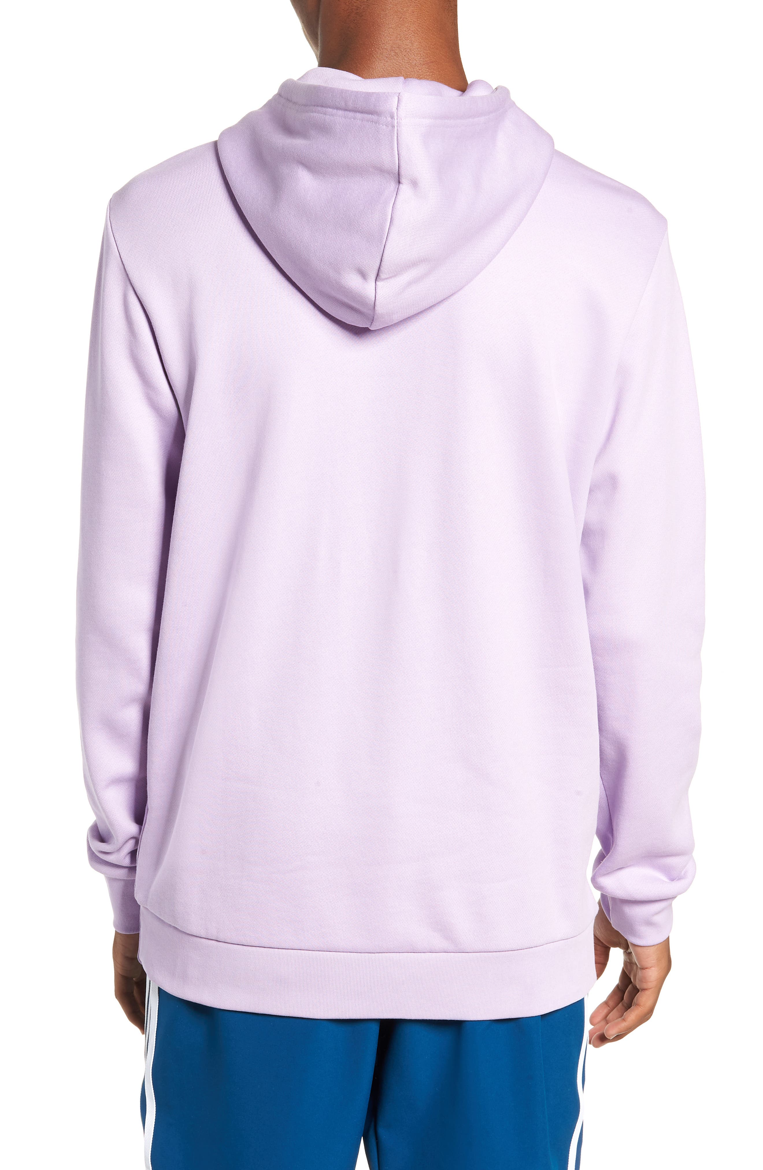 Trefoil Sweatshirt,                             Alternate thumbnail 4, color,
