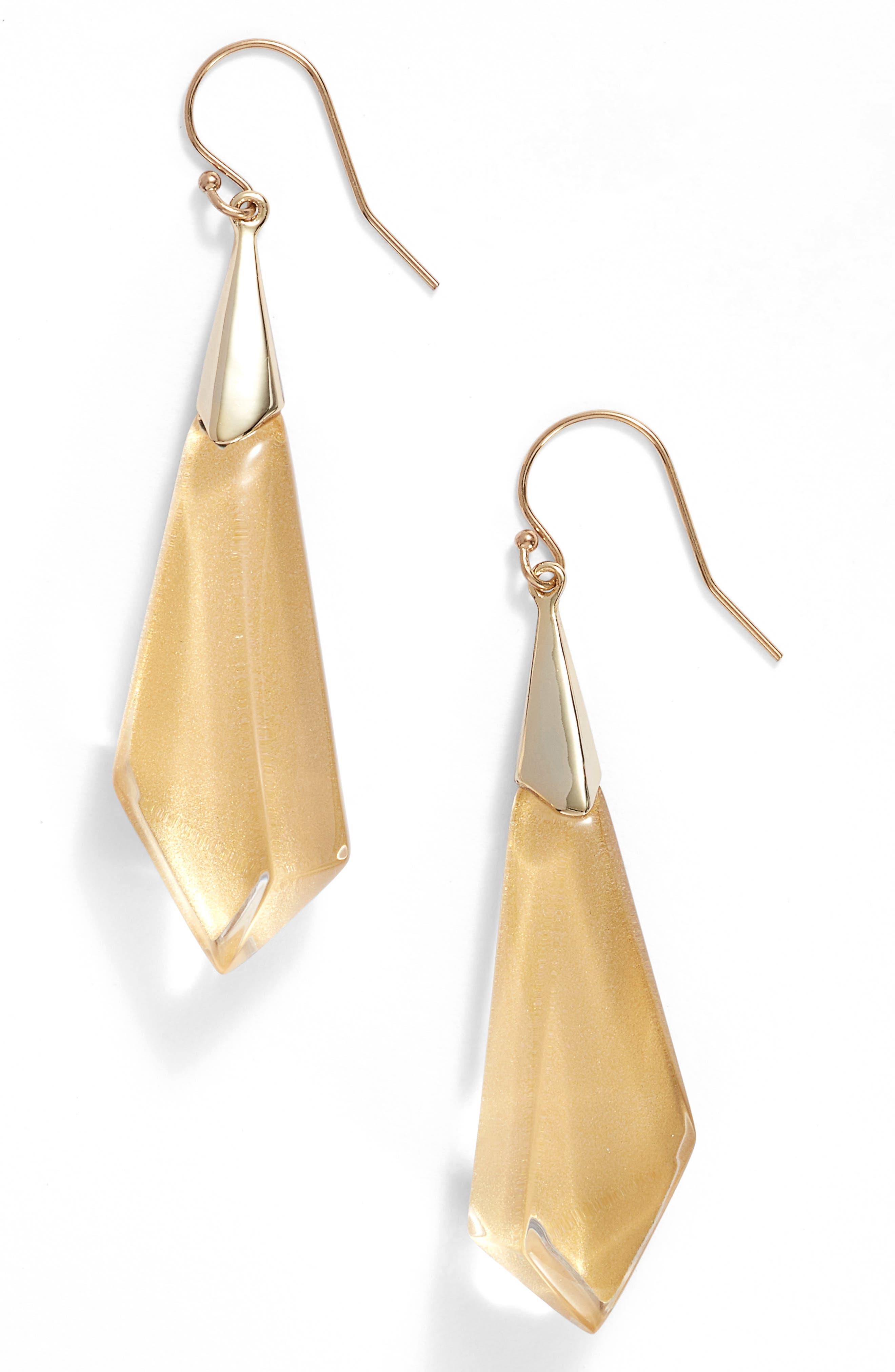 Lucite<sup>®</sup> Drop Earrings,                             Main thumbnail 6, color,