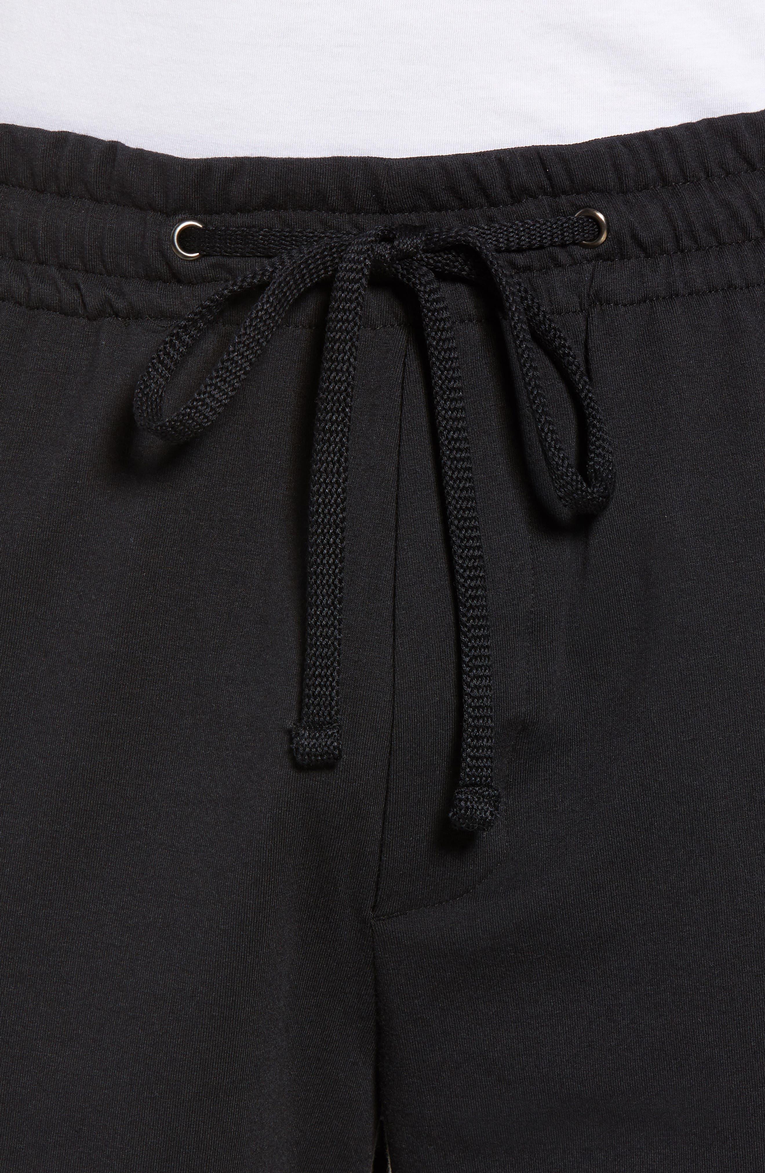 Vintage Regular Fit Gym Shorts,                             Alternate thumbnail 4, color,                             001