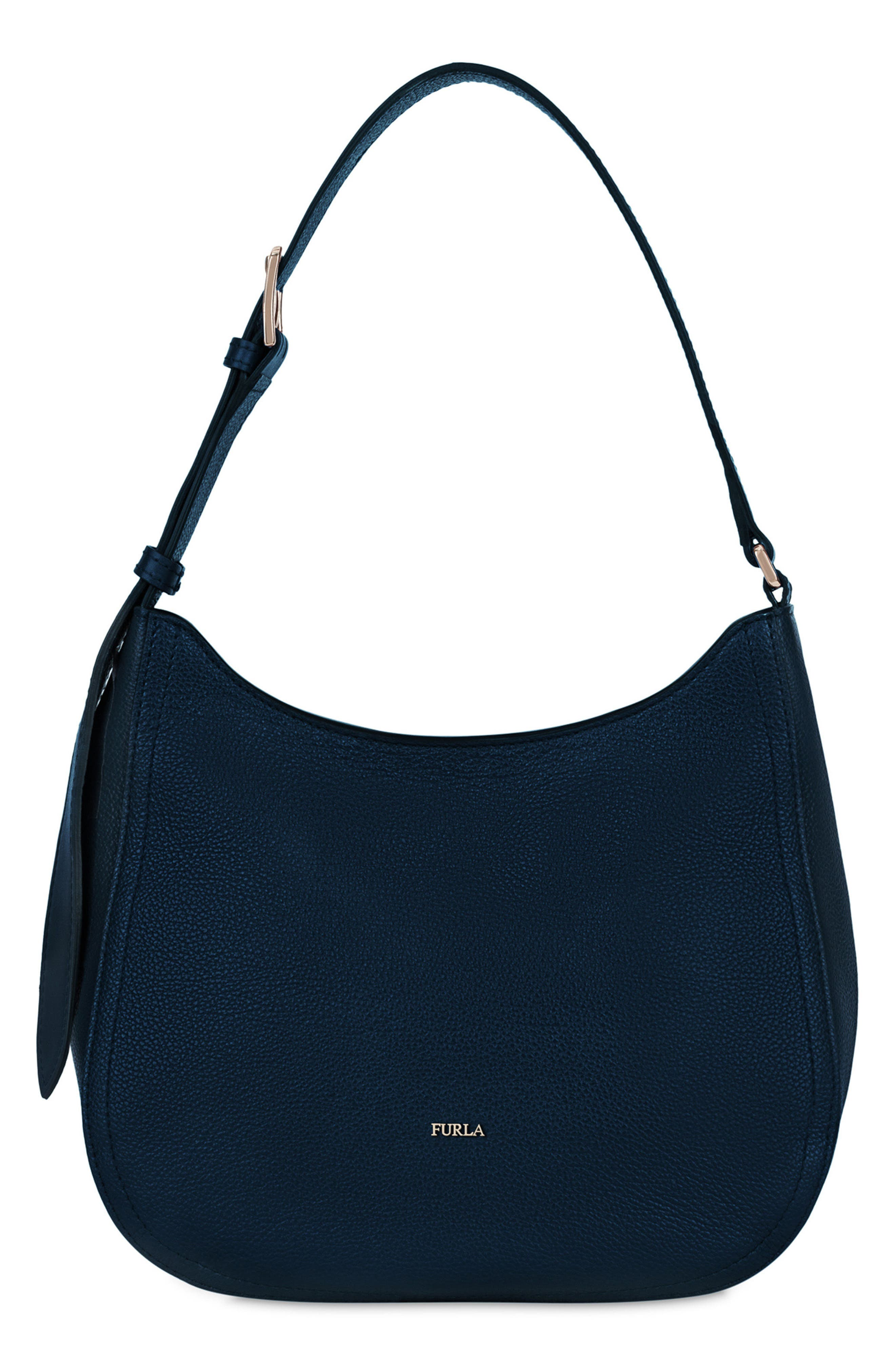 Medium Bloom Leather Hobo,                             Main thumbnail 2, color,