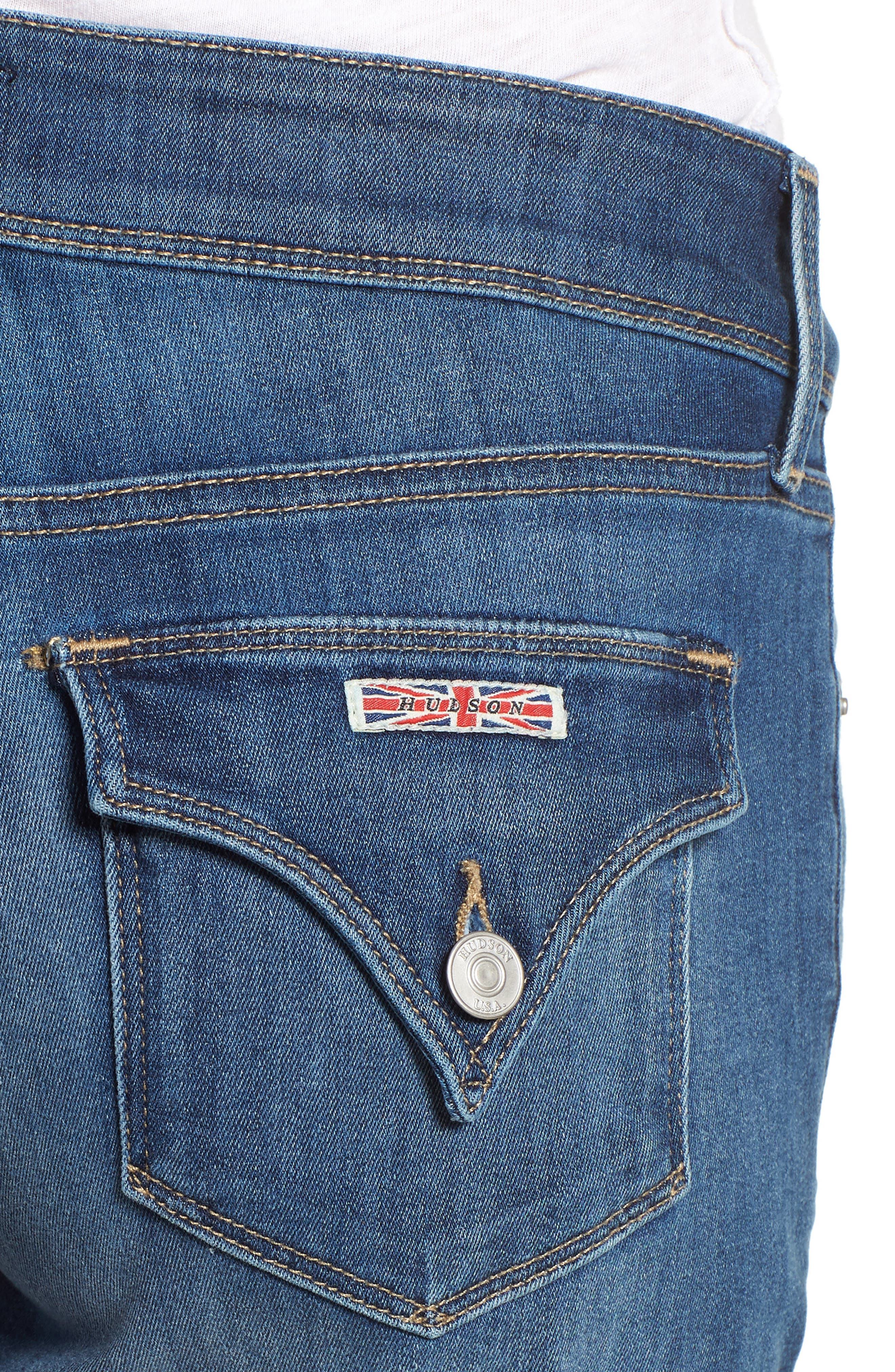 'Croxley' Cuffed Denim Shorts,                             Alternate thumbnail 20, color,
