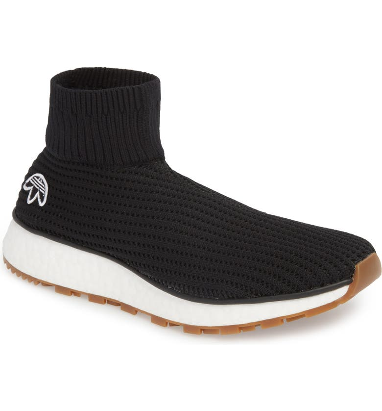 new arrival 0cbc6 de738 ADIDAS BY ALEXANDER WANG AW Run Clean Sock Sneaker, Main, color, 001